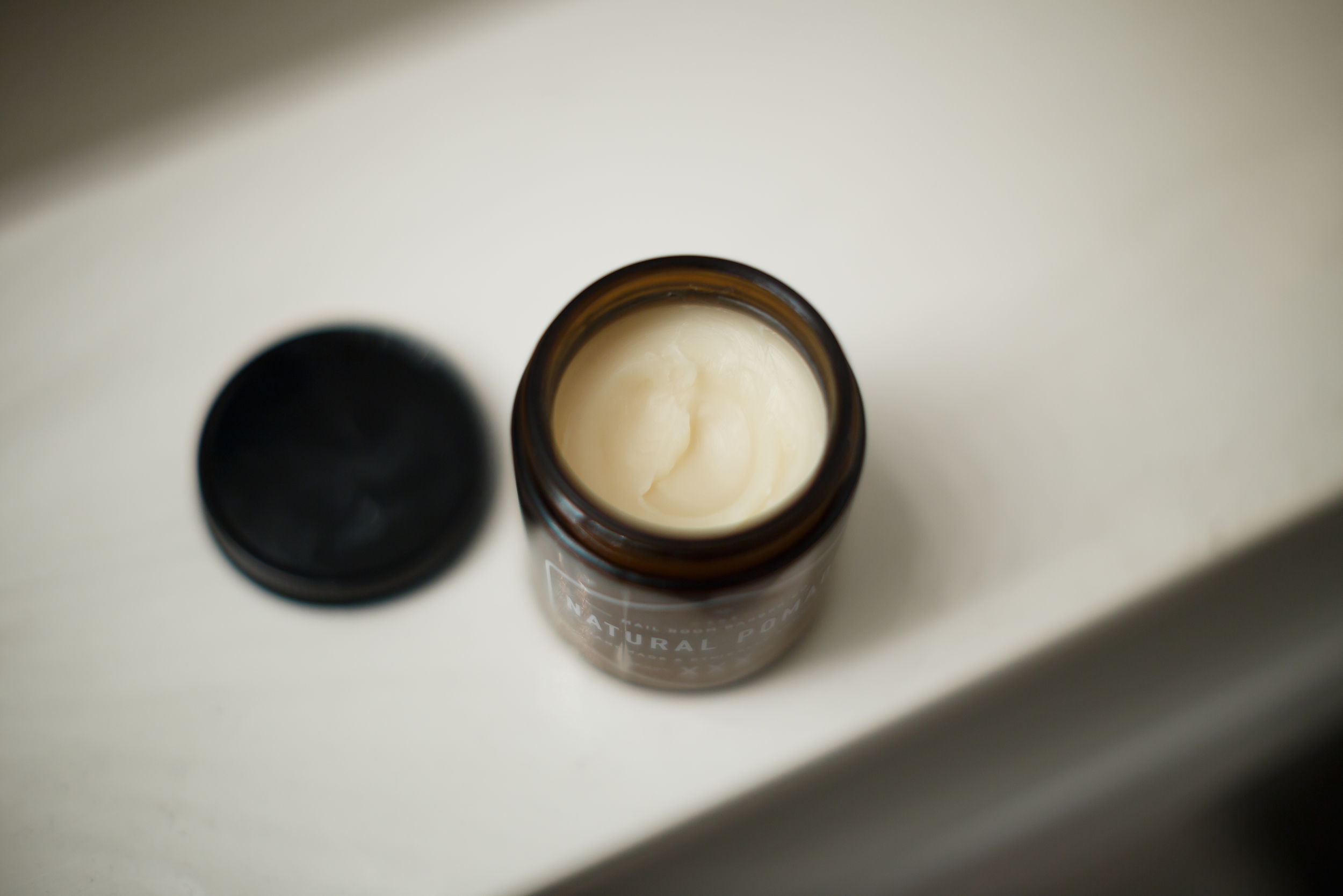 The Mail Room Barber Natural Pomade Heavy Hold XXX Review by The Pomp | Petrolatum-Free