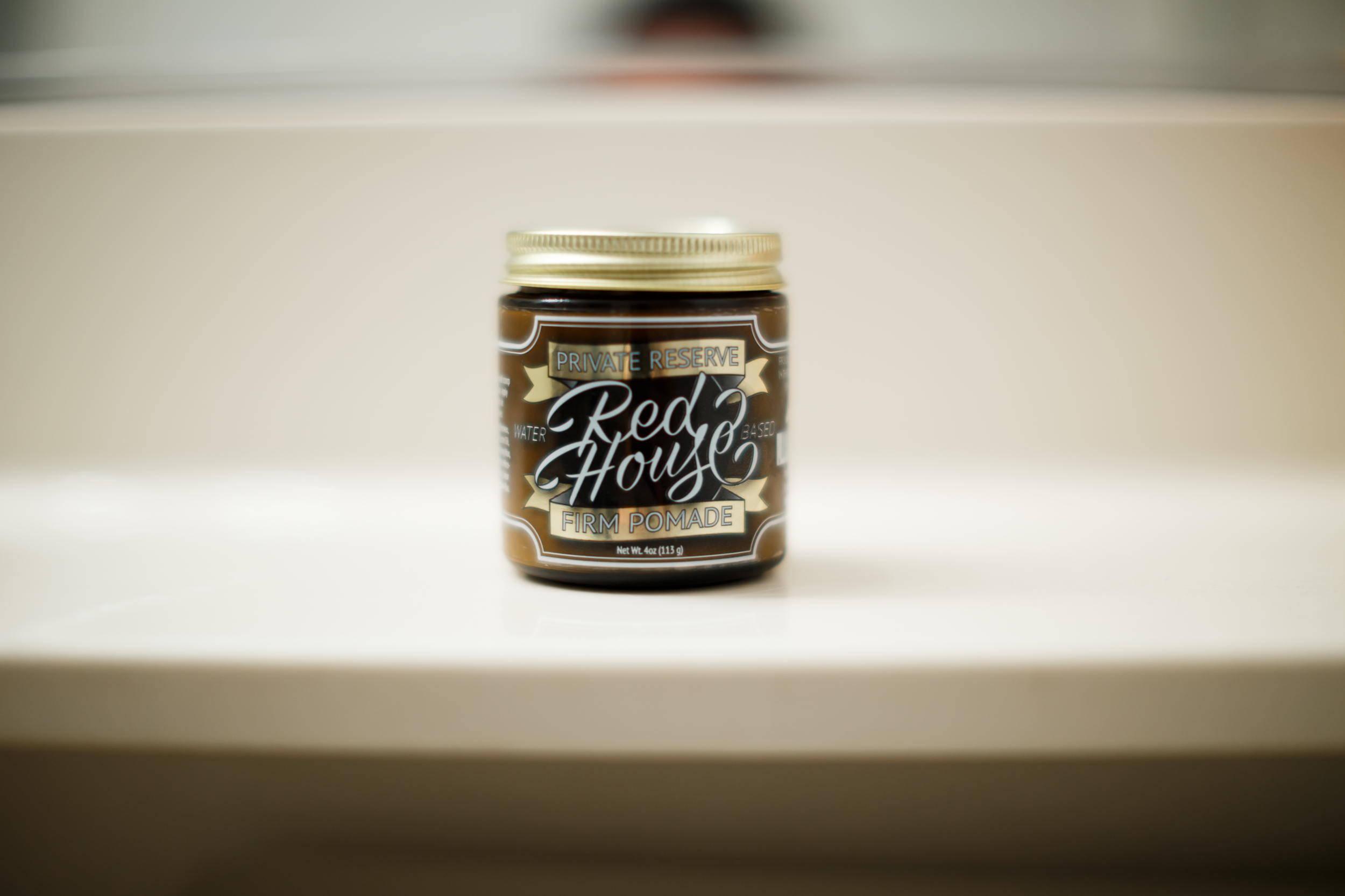 The Red House Private Reserve Firm Pomade Review by The Pomp | Thank You Based Pomp