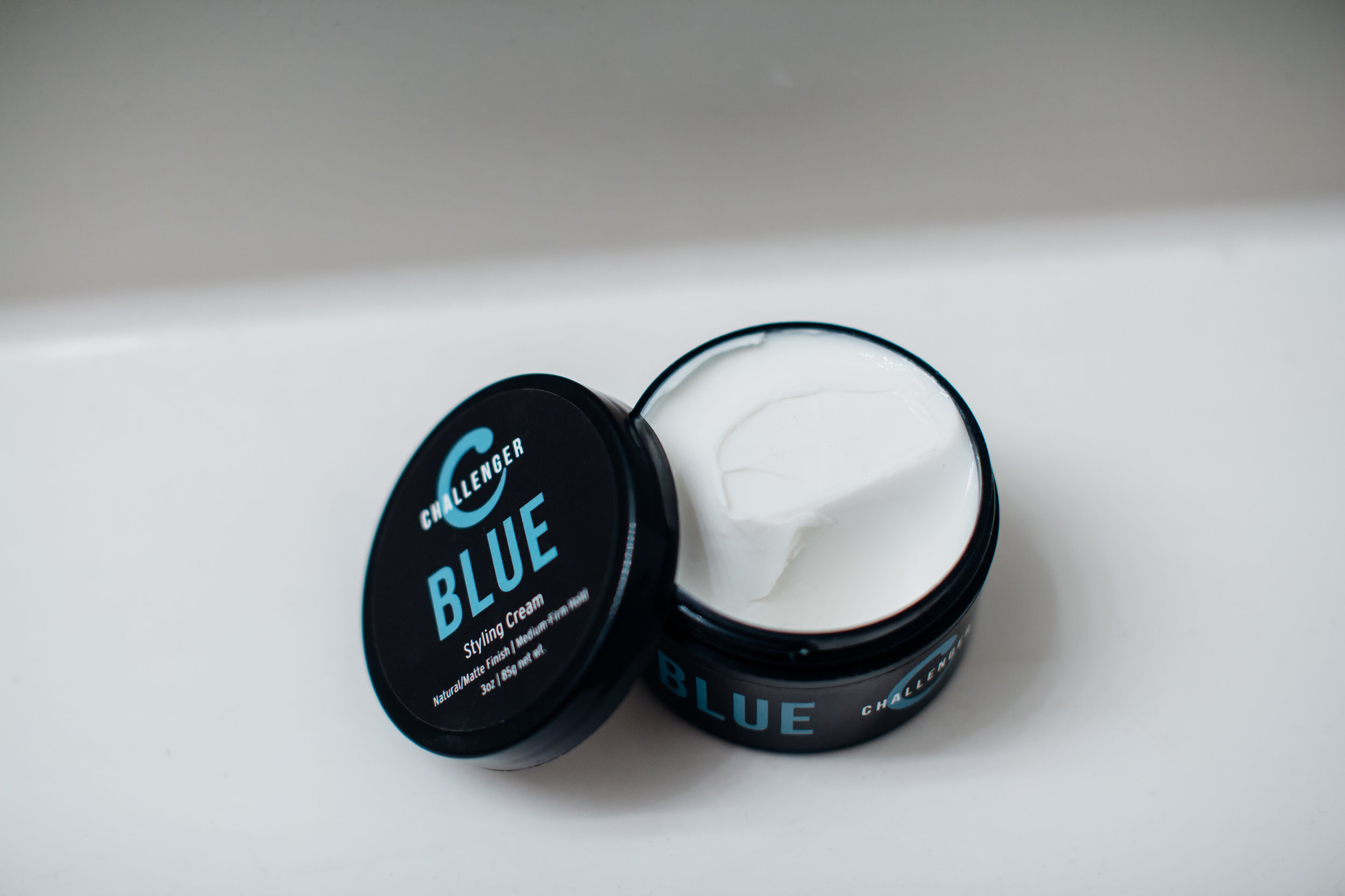 Challenger Blue Matte Styling Cream