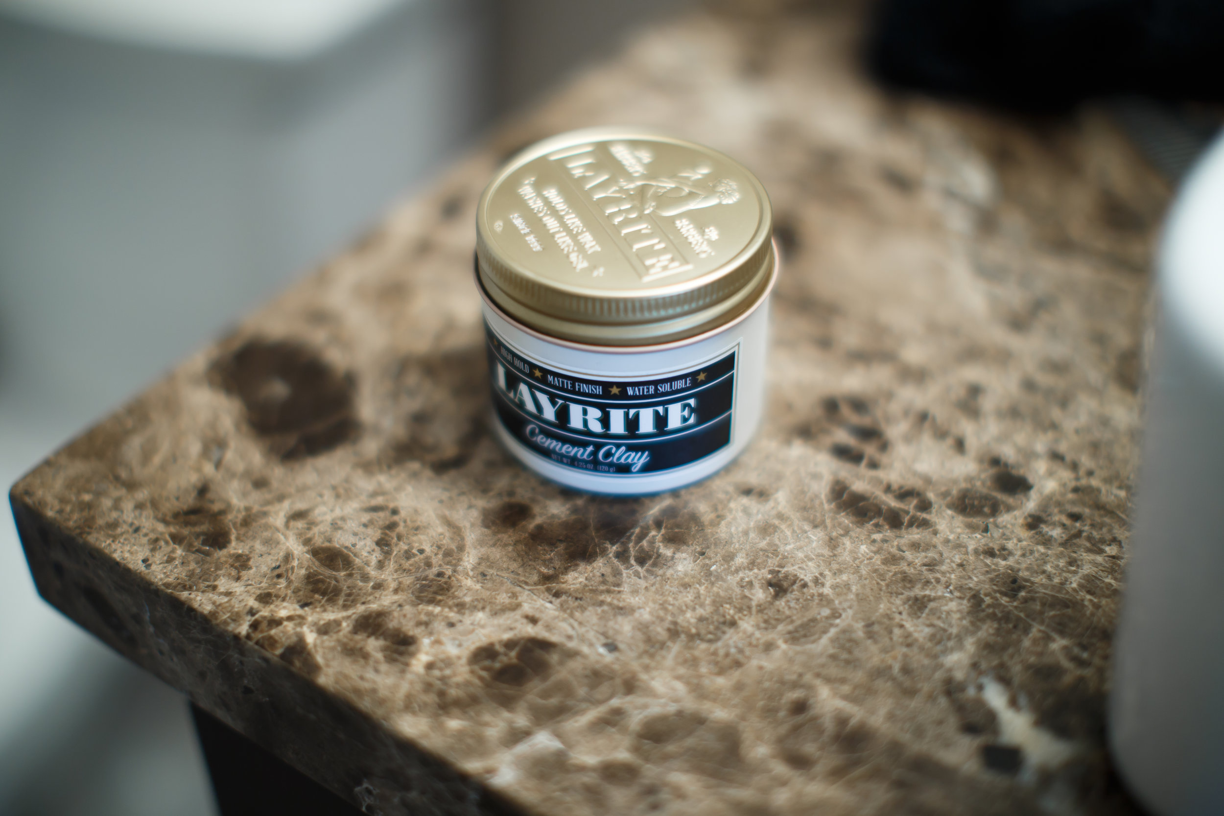 Layrite Cement Clay Pomade Review by The Pomp | Thank You Based Pomp TYBP