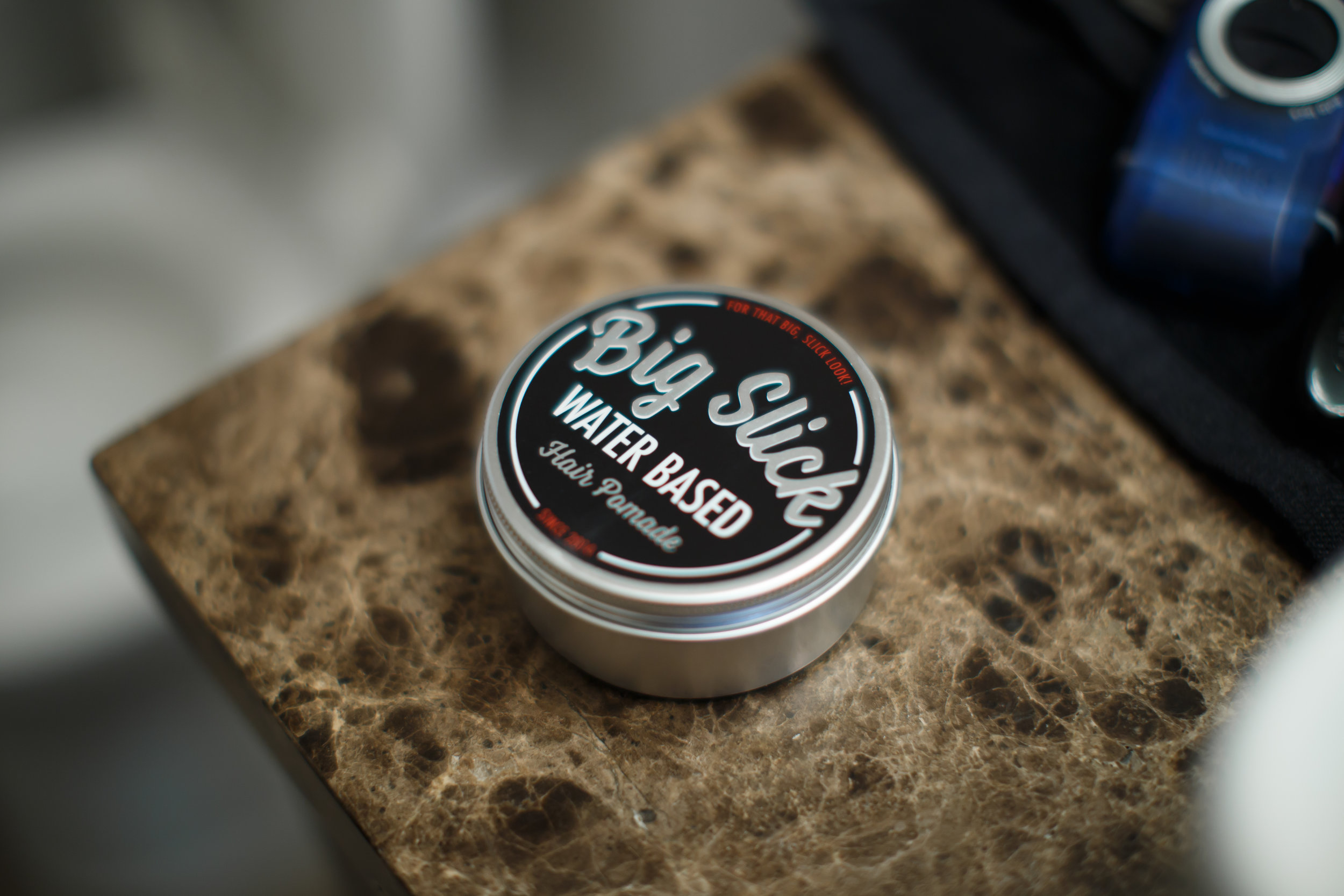Big Slick Water Based Hair Pomade Review by The Pomp | TYBP
