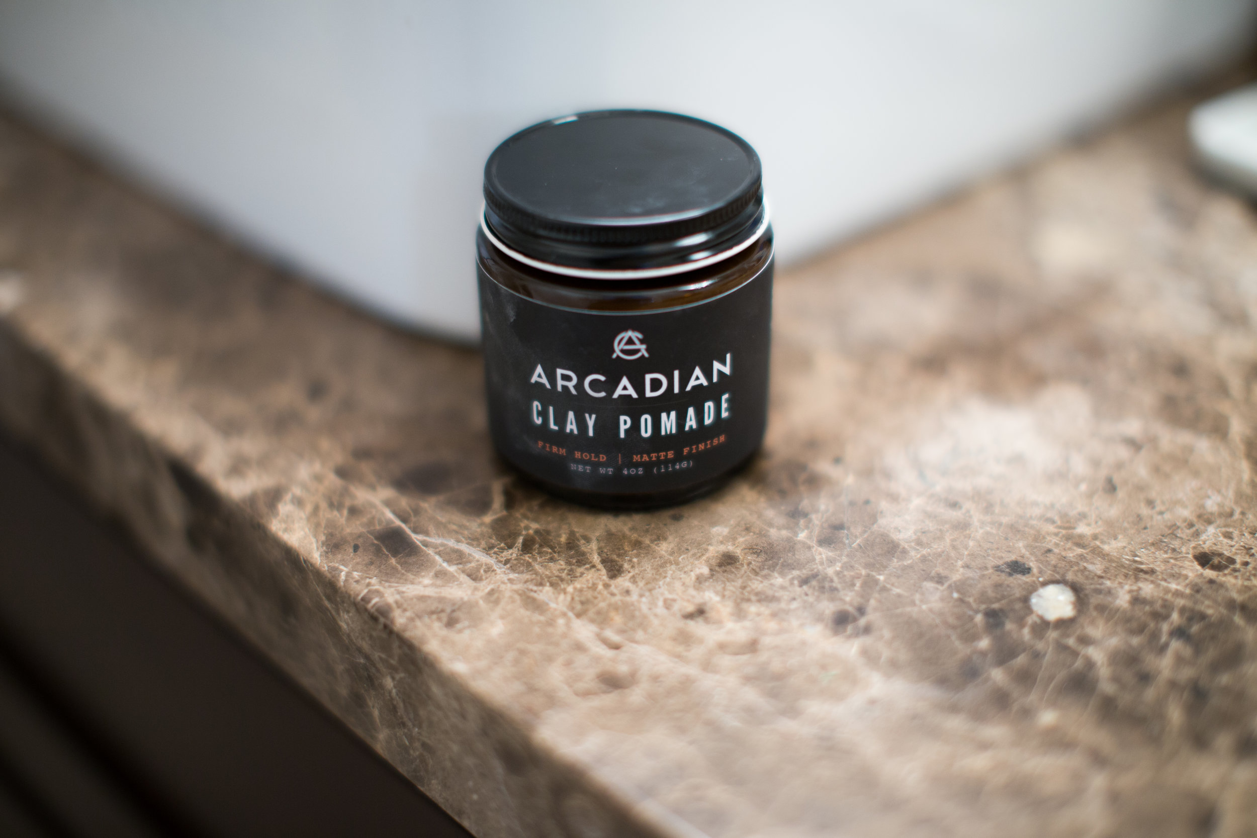 Arcadian Clay Pomade Review by The Pomp