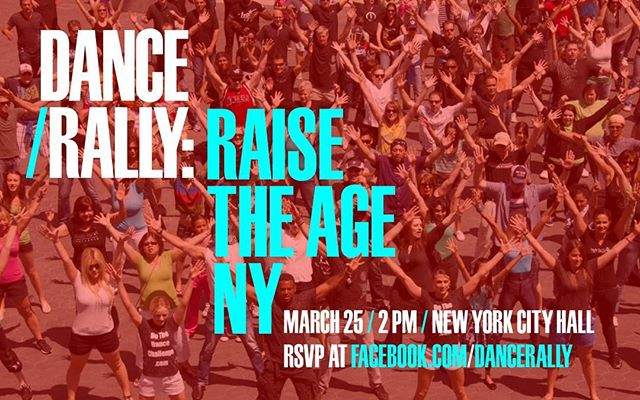 ONE WEEK FROM TODAY! NEW LOCATION: CITY HALL!  Stay tuned for the moves tomorrow!  #danceiswhatdemocracylookslike #danceflashmob #raisetheageny #raisetheage #dancers #cityhall #nyc