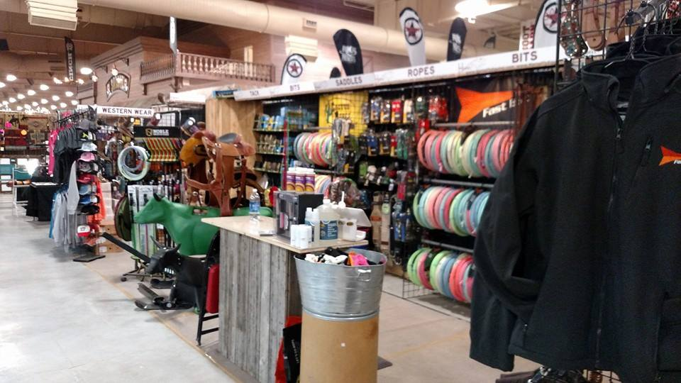 Horse Fly Equine and Equipment Booth at South Point
