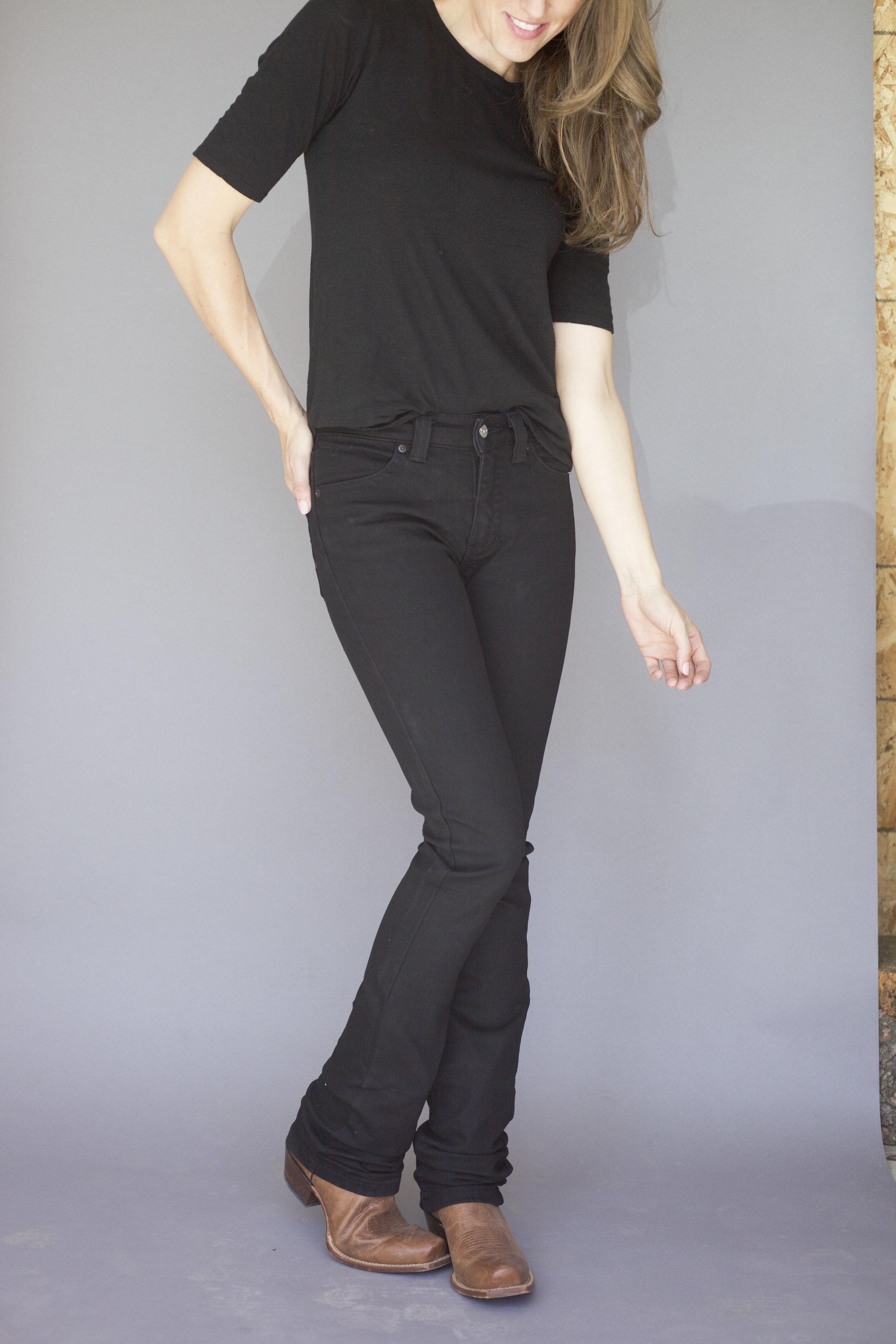 Betty in black