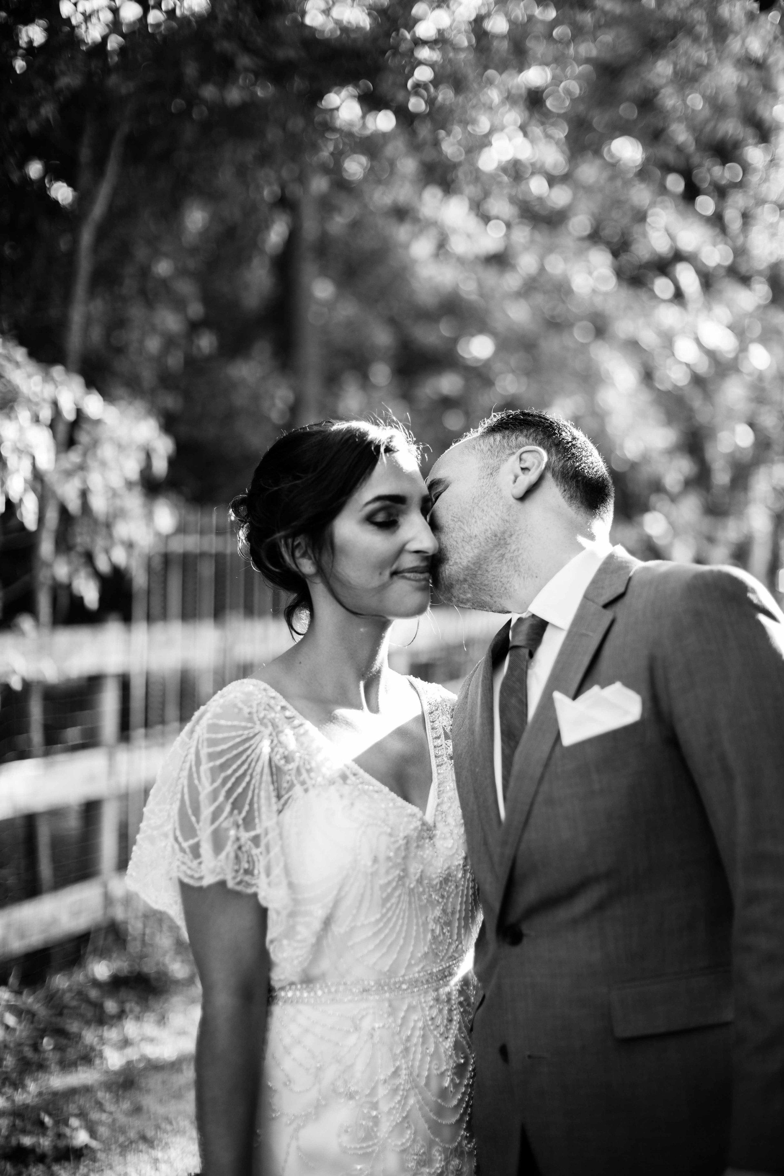Cassandra & Justin Laidback wedding in wine country - Sonoma, CA