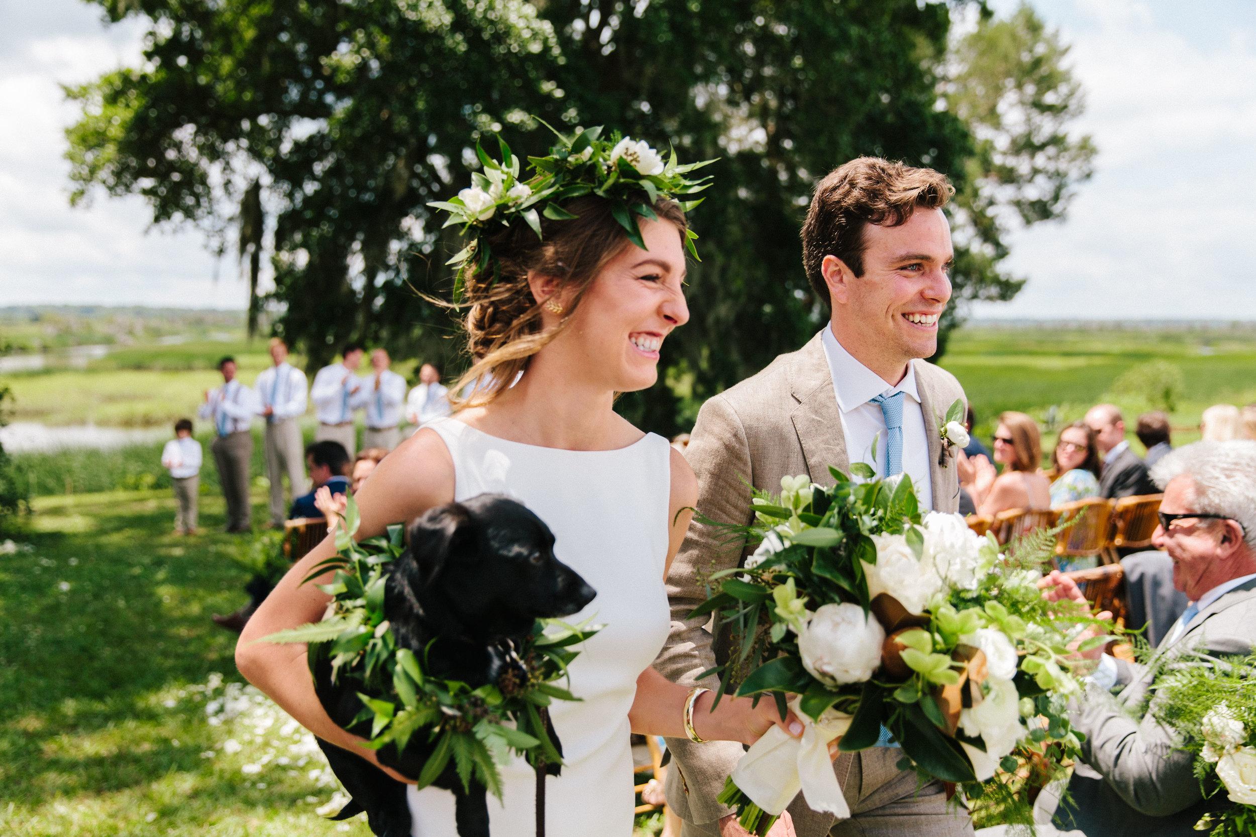 Tommy & Liz Summer wedding on Plum Hill (a.k.a. The Forrest Gump Plantation) - Yemassee, SC