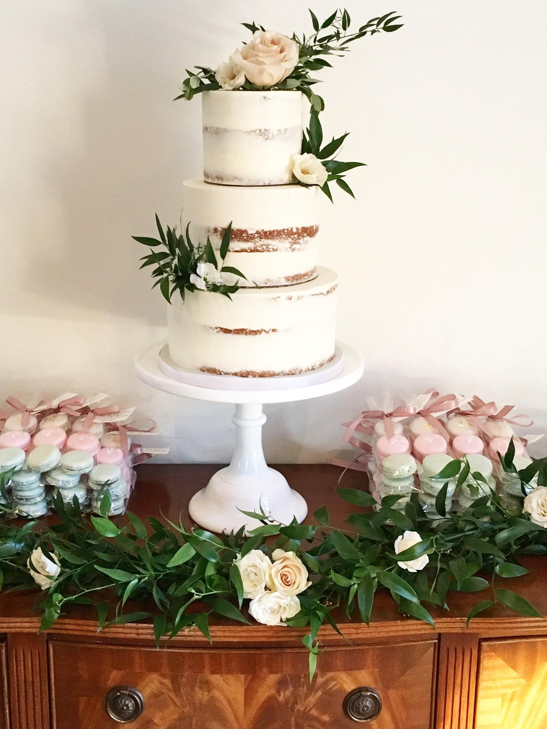 Annette & Alex Wedding Cake