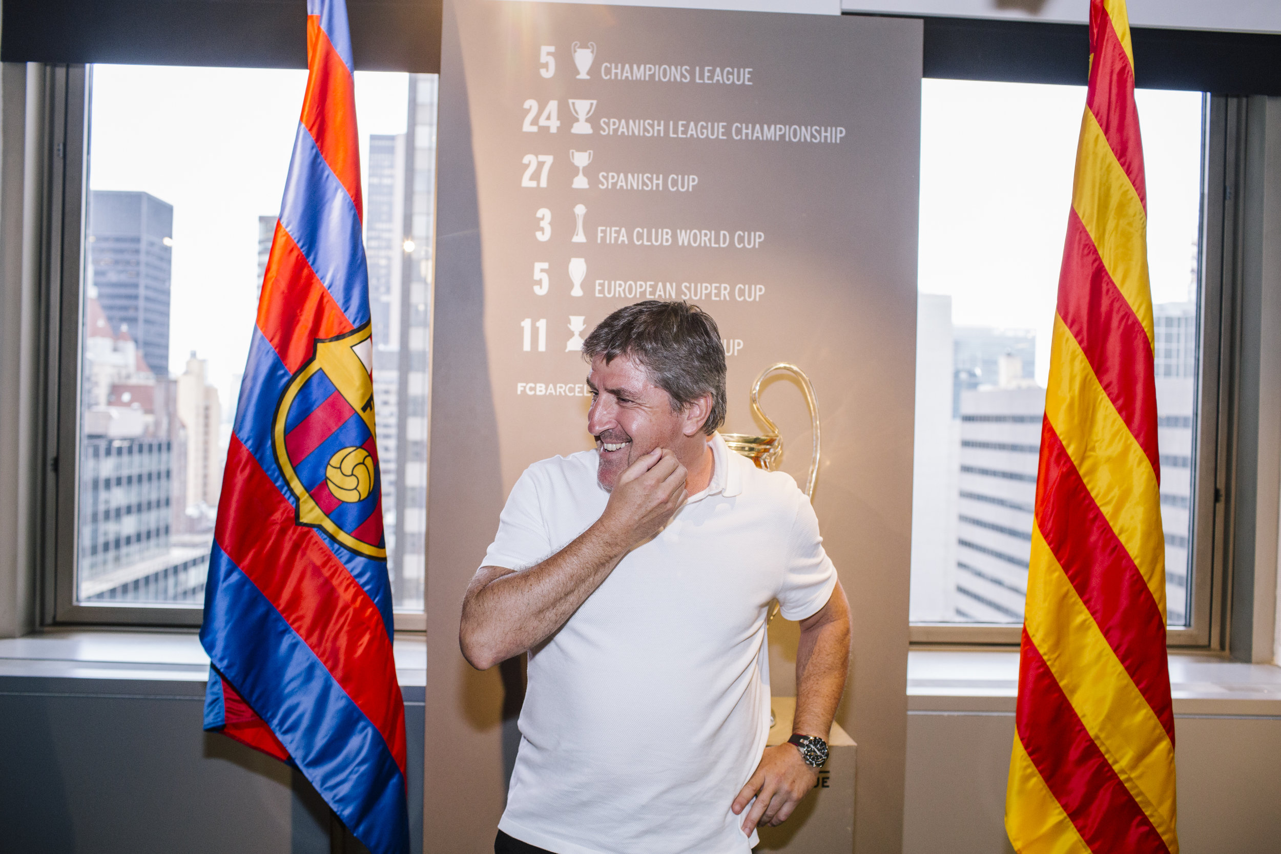 Director of Youth Football Jordi Roura