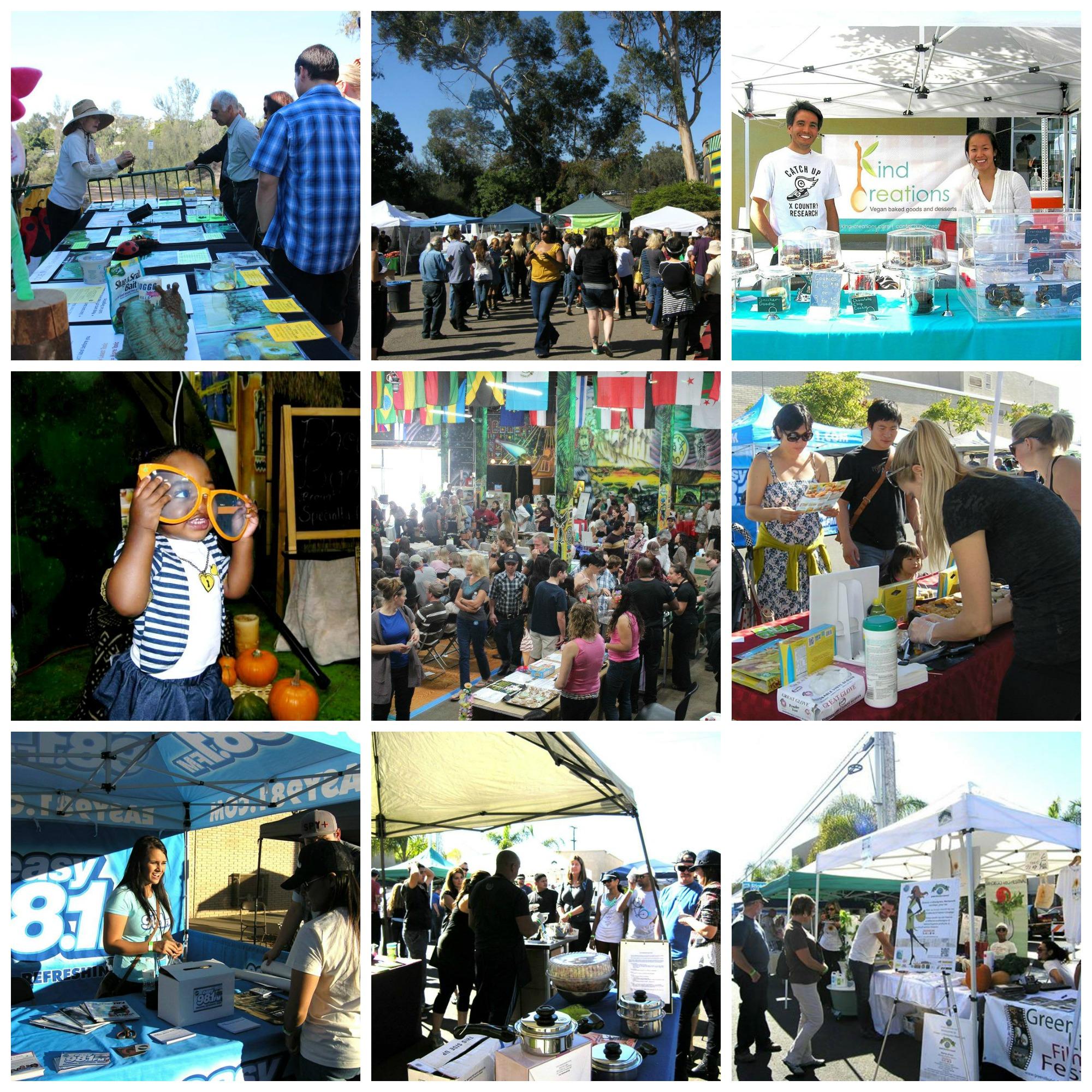exhibitors collage