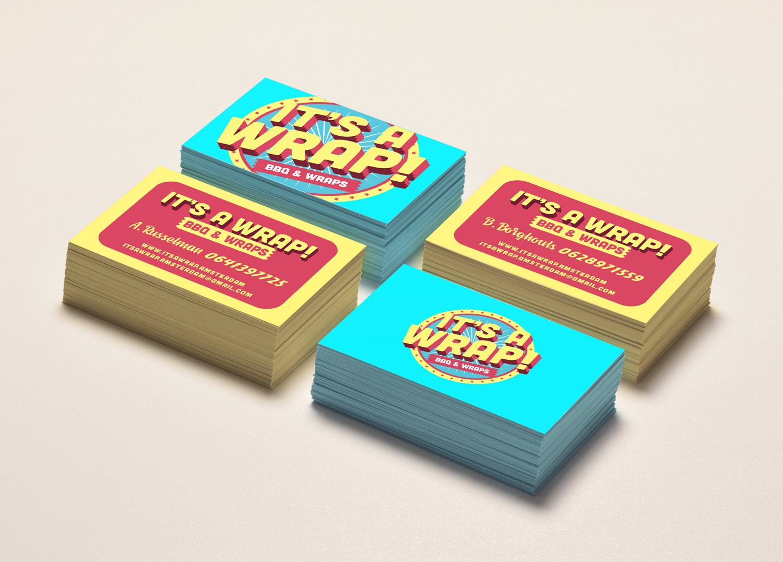 It's a Wrap! Logo — Jan Jesse Bakker Portfolio