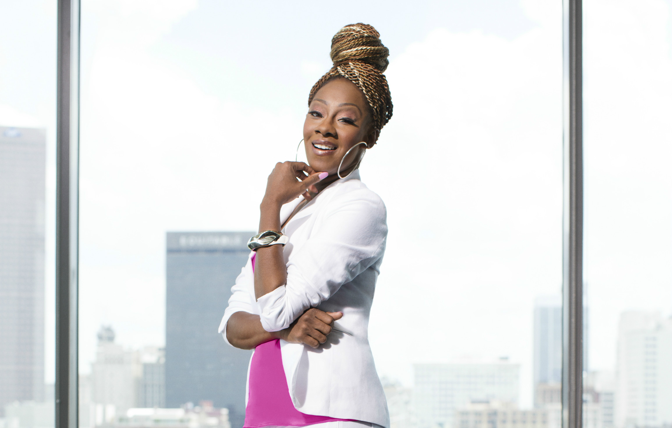 Pastor Le'Andria Johnson of Preachers of Atlanta (Oxygen Media)