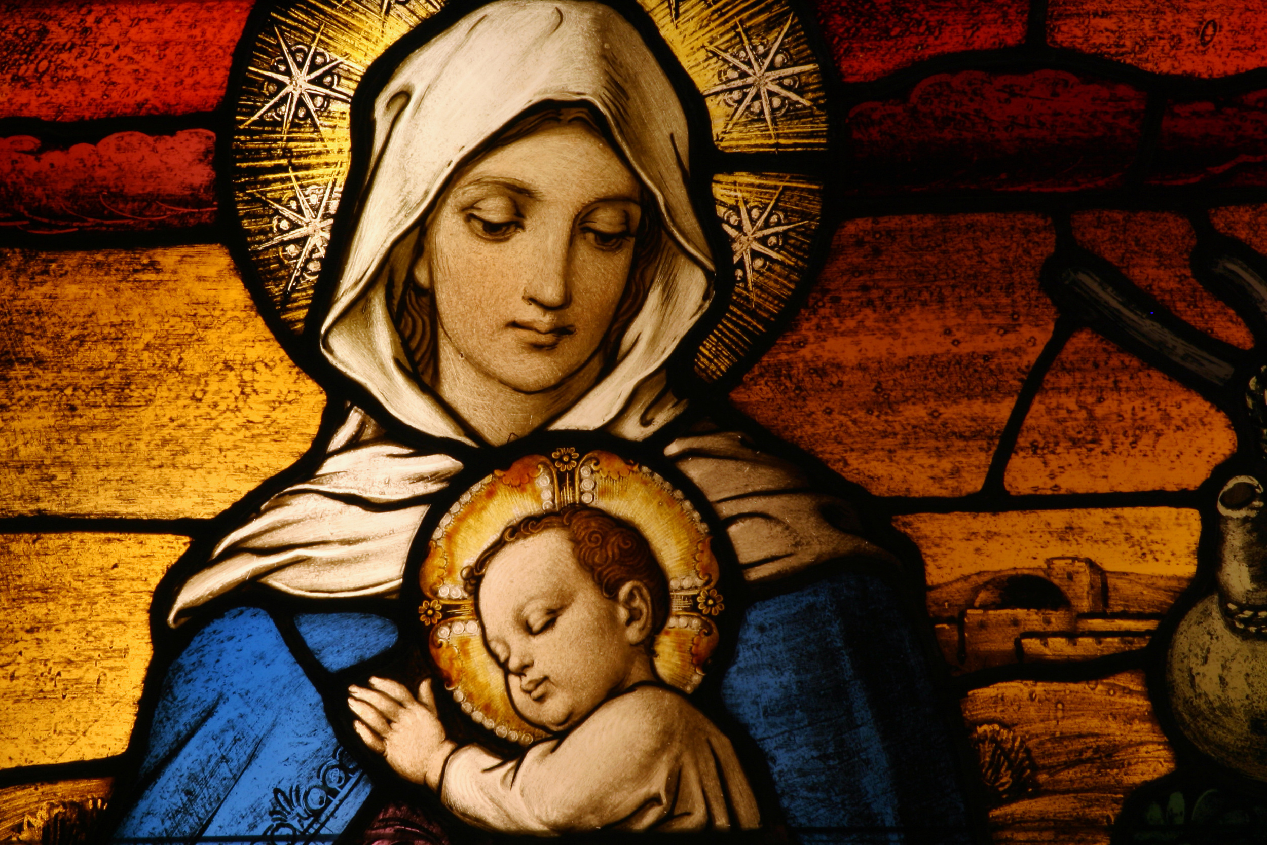Roman Catholicism often depict Jesus as a baby in Mary's arms instead of reverencing Him as the Son of the Most High God. Some might say this is a stealth attempt to undermine Jesus's divinity as  The Christ .(Image: CURA Photography)