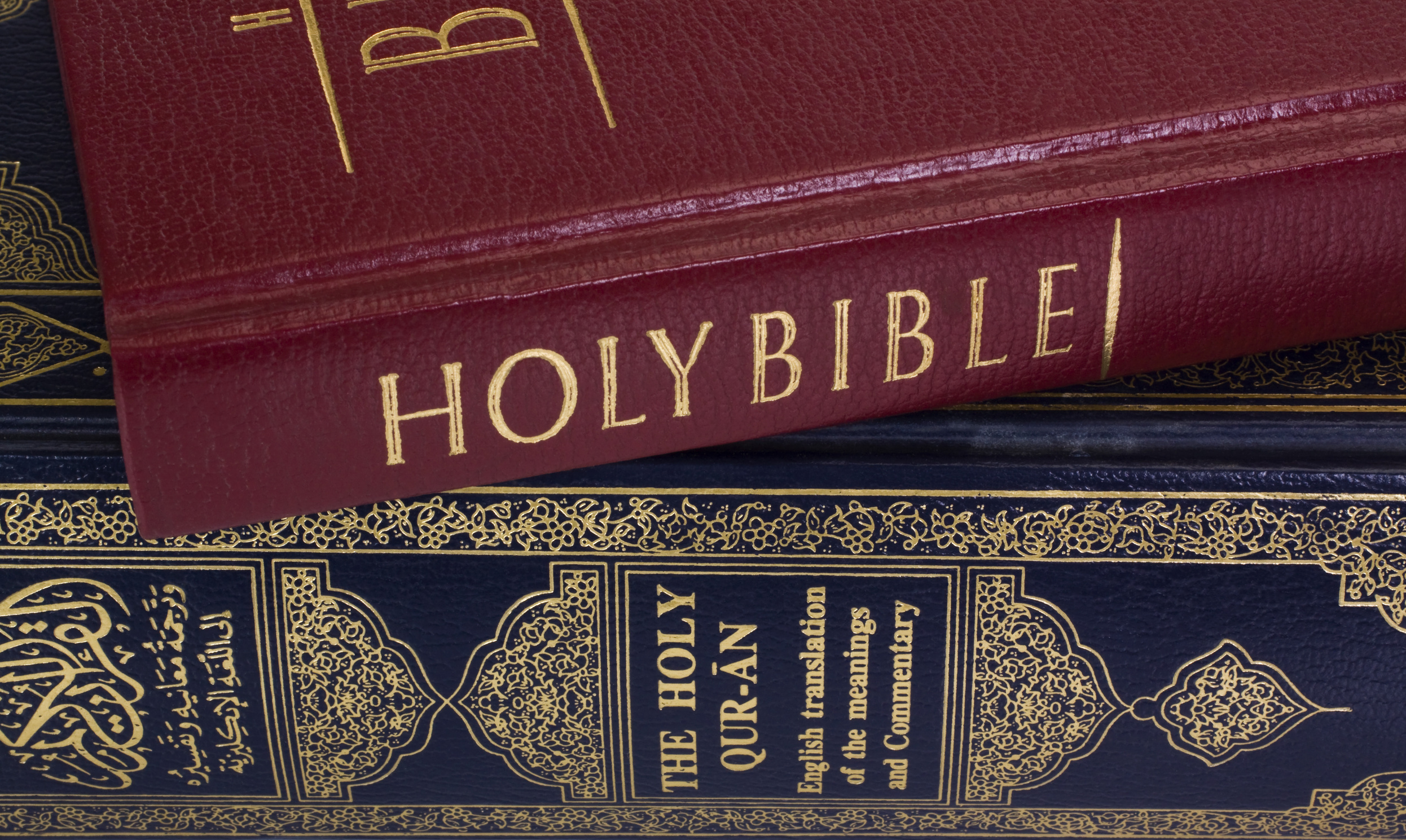 Many would purport that these two books describe the same God. But then one would have to question why Christianity and Islam have existed as two separate religions for centuries. There MUST be a difference...and it MUST be extremely important.(Image: Imagedb)