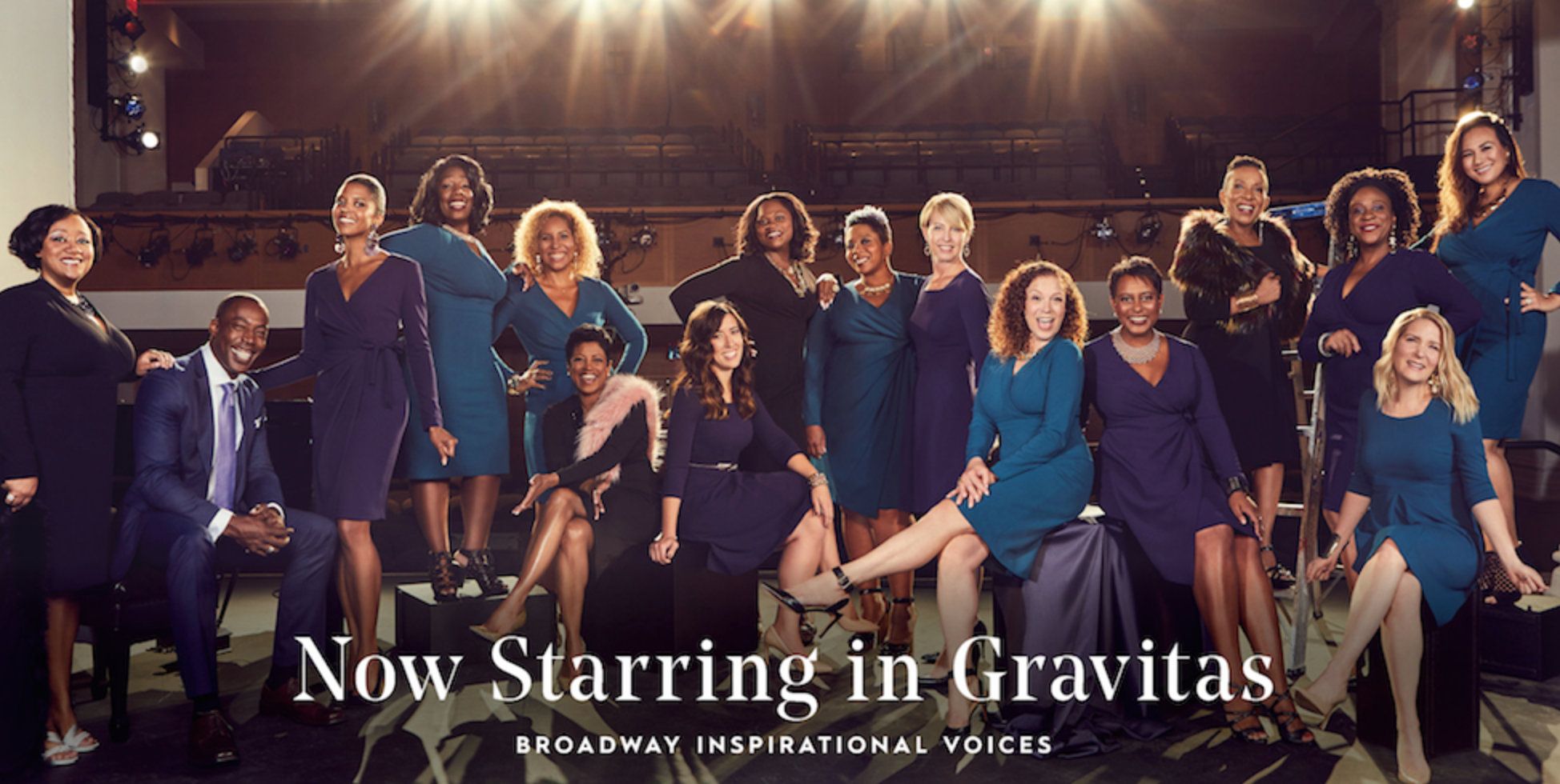 Gravitas Promotional Shoot Featuring Broadway Inspirational Voices
