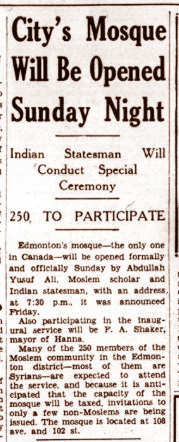 Edmonton Journal,  December 9, 1938