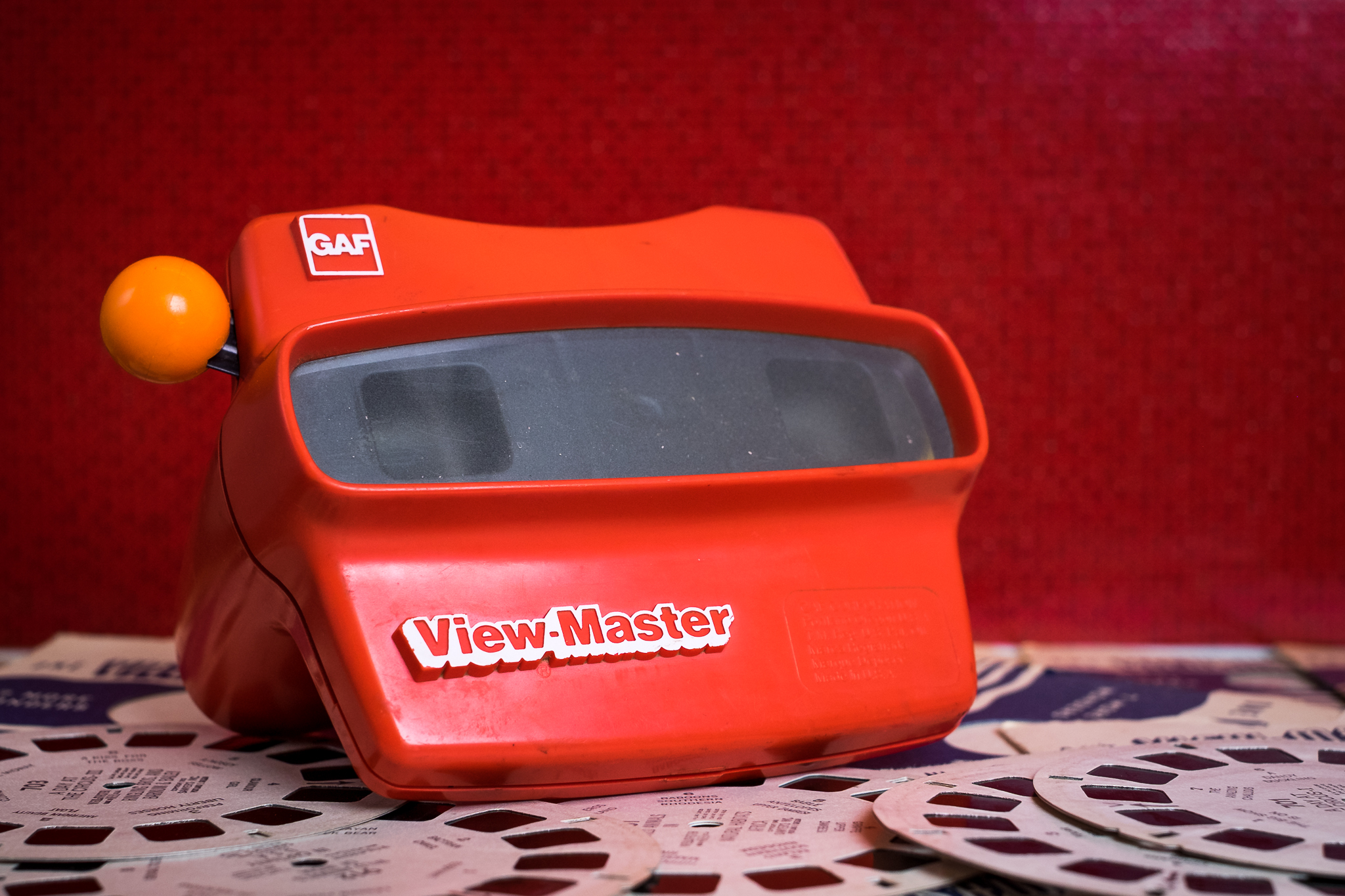 Viewmaster retro toys