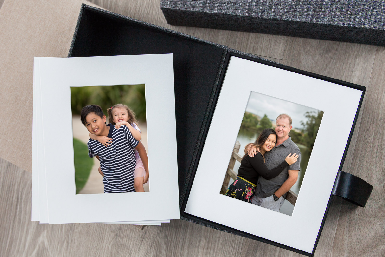 Matted Prints by Caboolture Outdoor Family Photographer