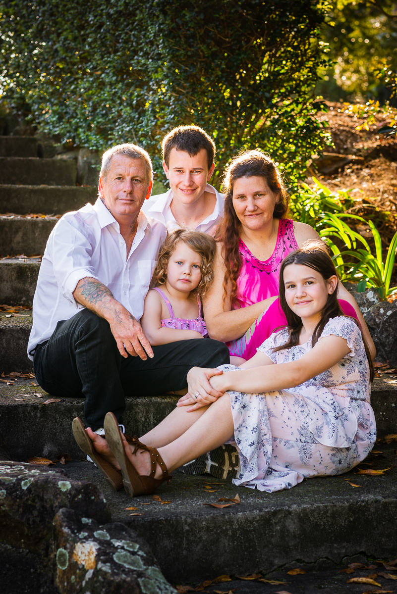 Centenary Lakes Caboolture family portrait