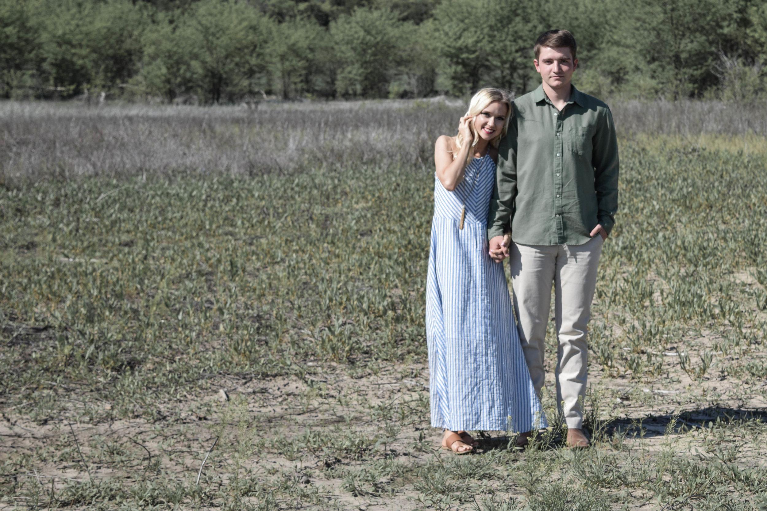 Kenzie + Nate | Spring 2017 | Tuttle Creek State Park | Engagement Session