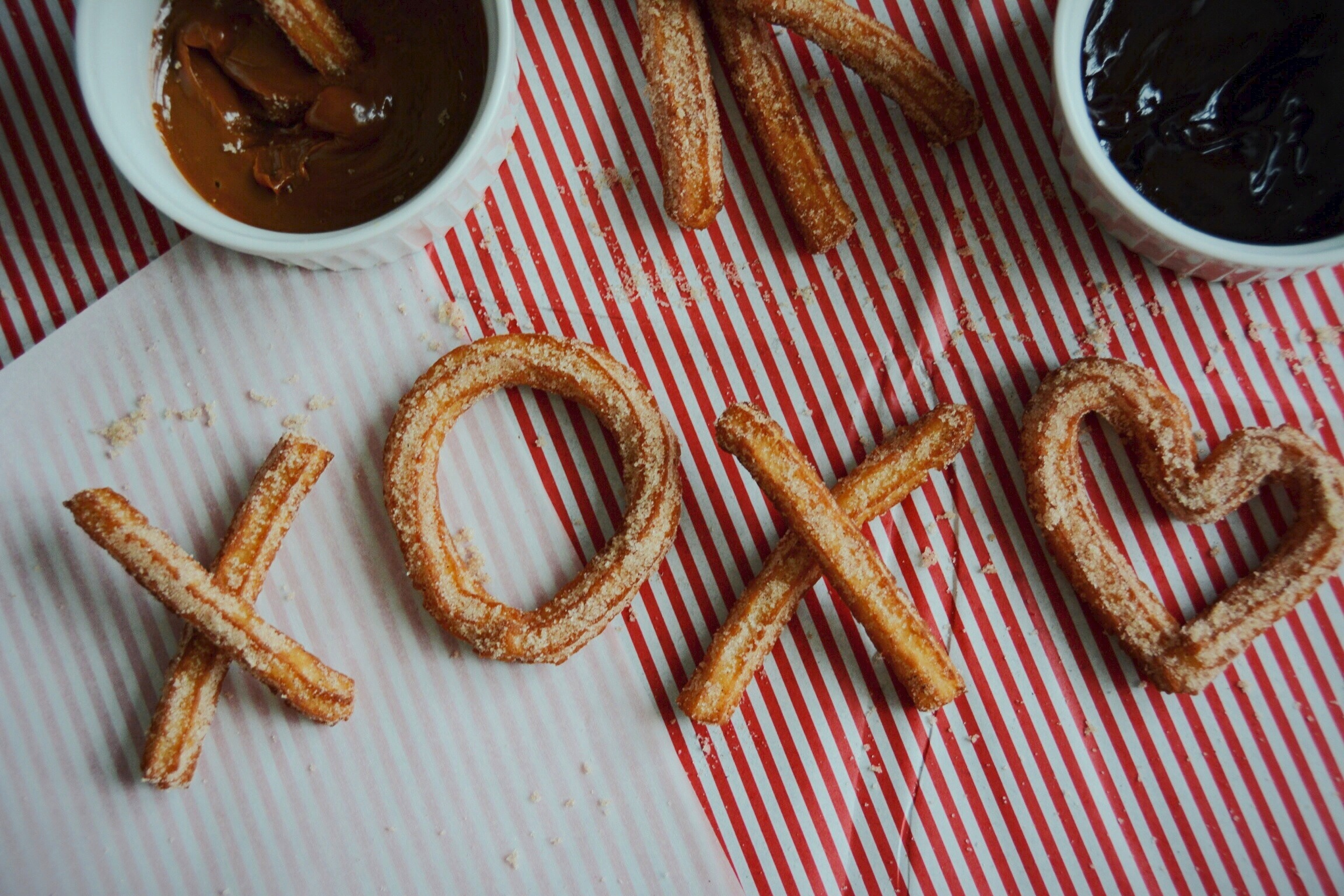 churros y chocolate | doughing it right