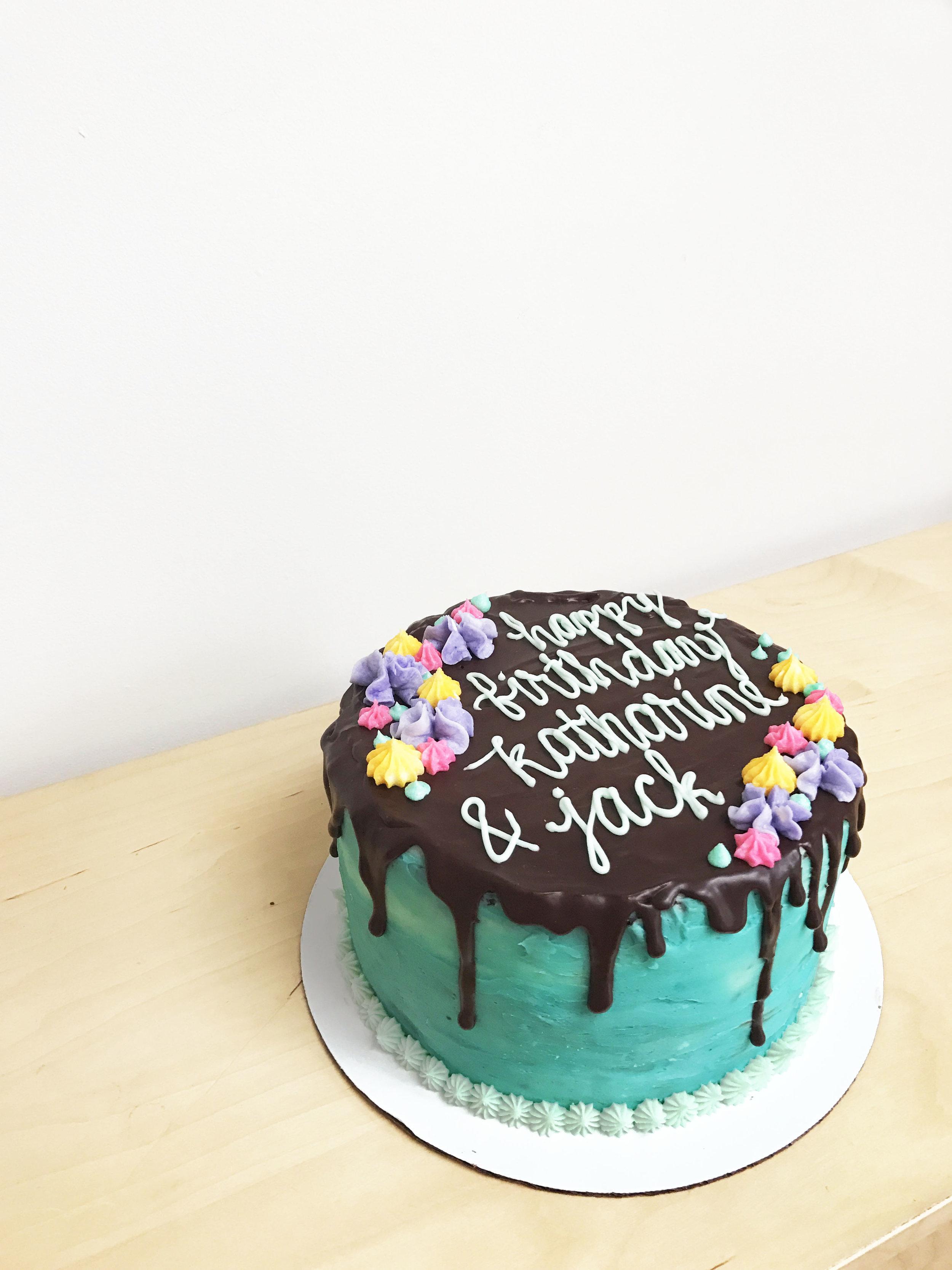 chocolate drip cake   doughing it right