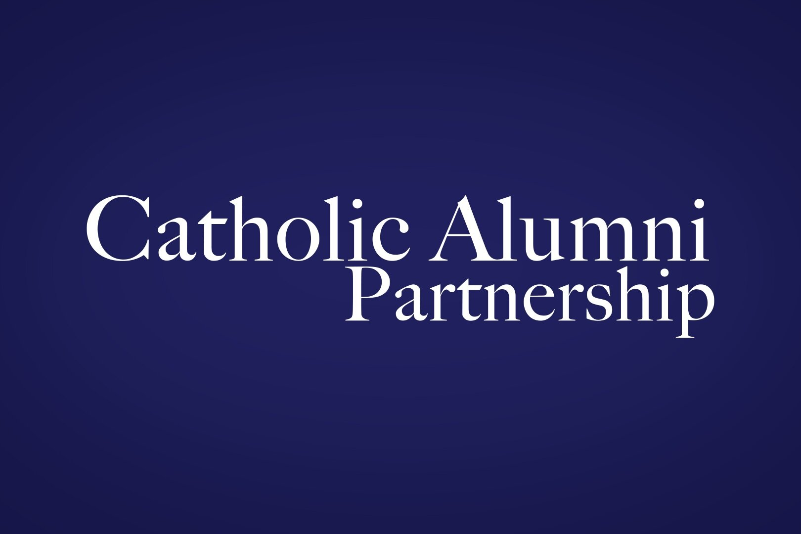 Microsite - As a team effort, I led the creative direction for this nonprofit microsite for the advancement of Catholic educational institutions.