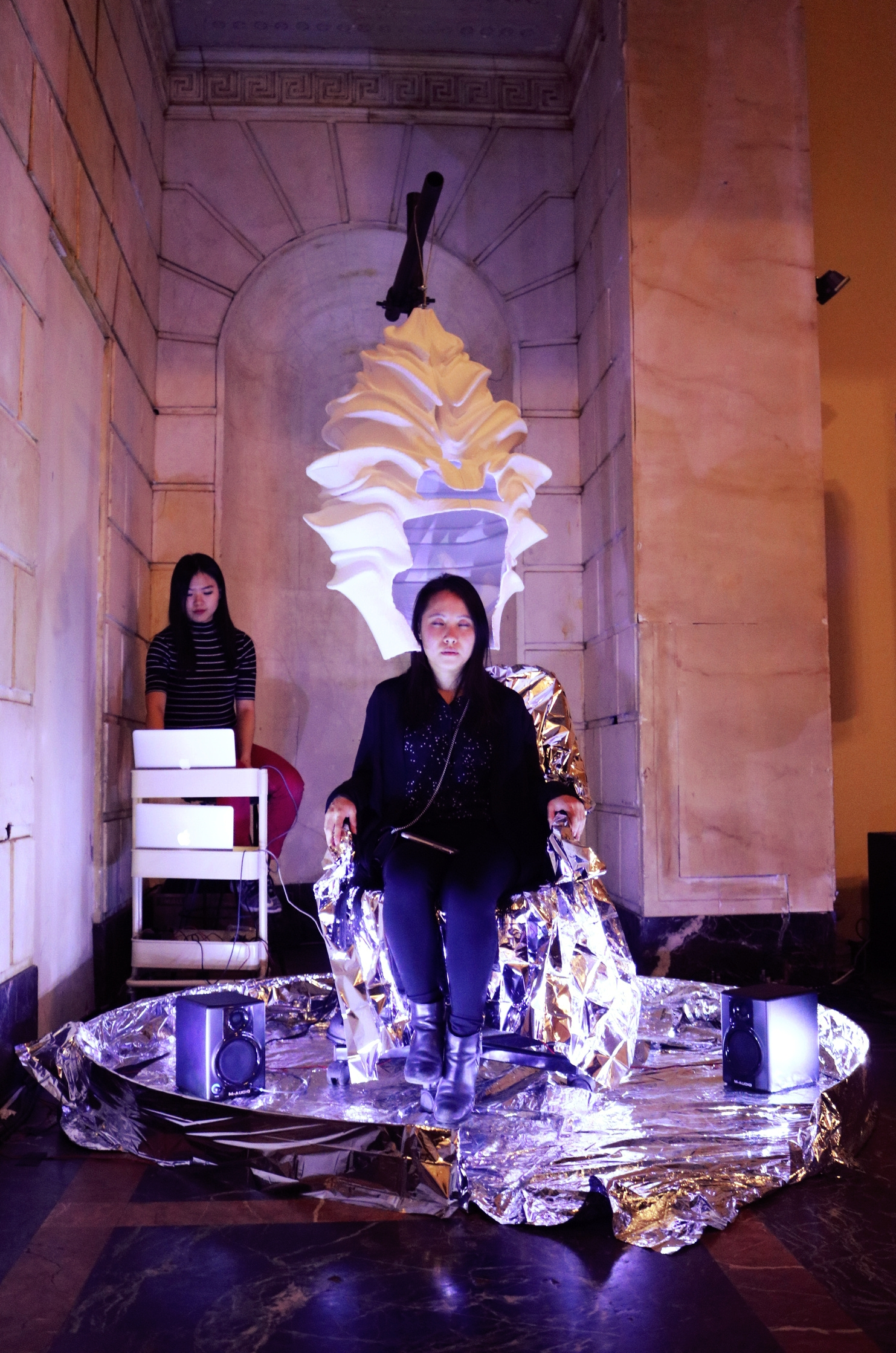 Into the Shell  at the Imagine Science Festival, ISSUE Project Room Brooklyn, NY 12 October 2018