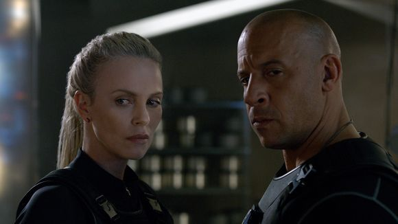 - Vin Diesel dishes on his hot 'Furious' kiss with Charlize Theron