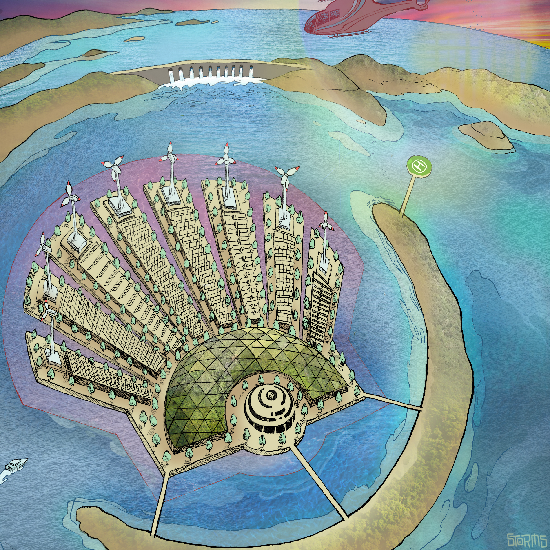 Shell Energy Island