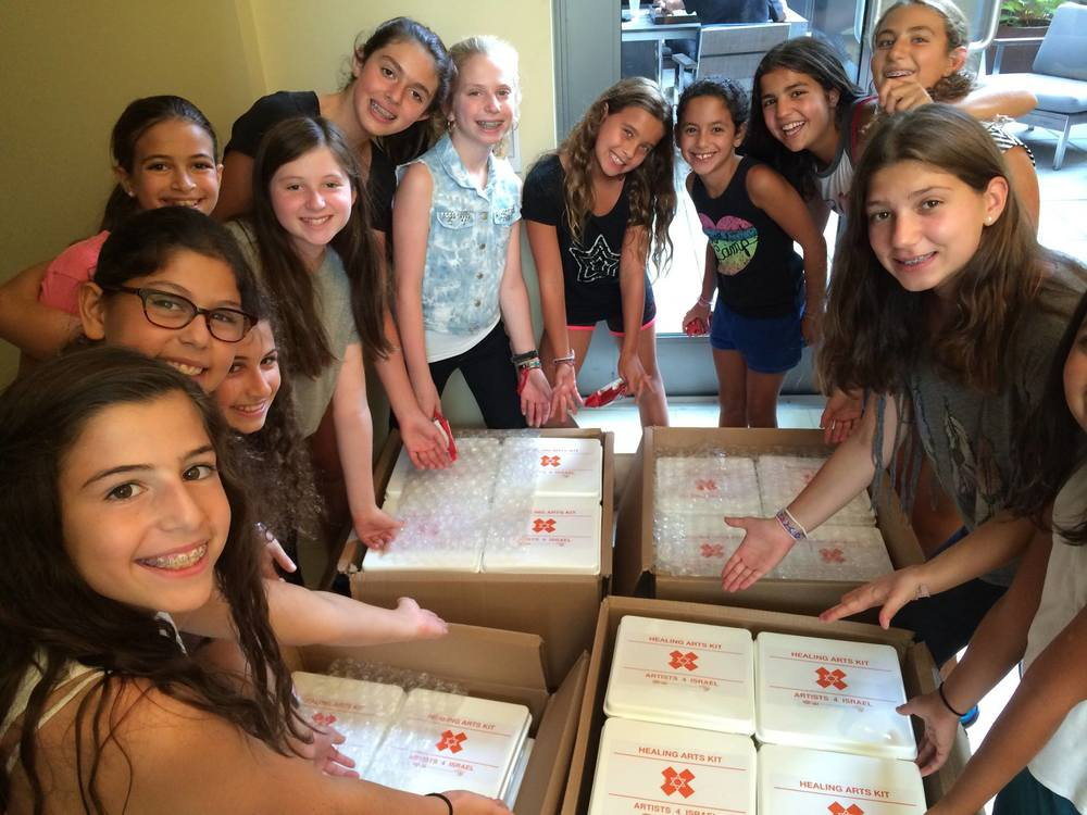 Kids Helping Kids: Packing Parties