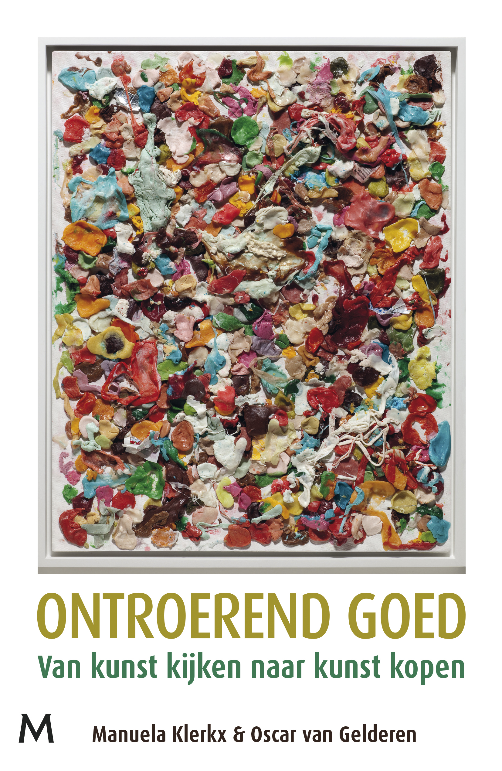 Cover: Bubblegum painting Dan Colen | To be published in February 2018 | Meulenhoff