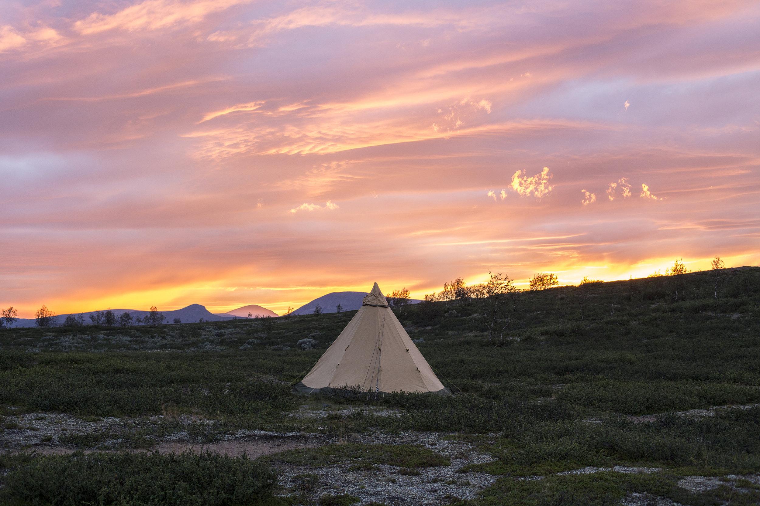 Sandåslandet, Lappland Sweden