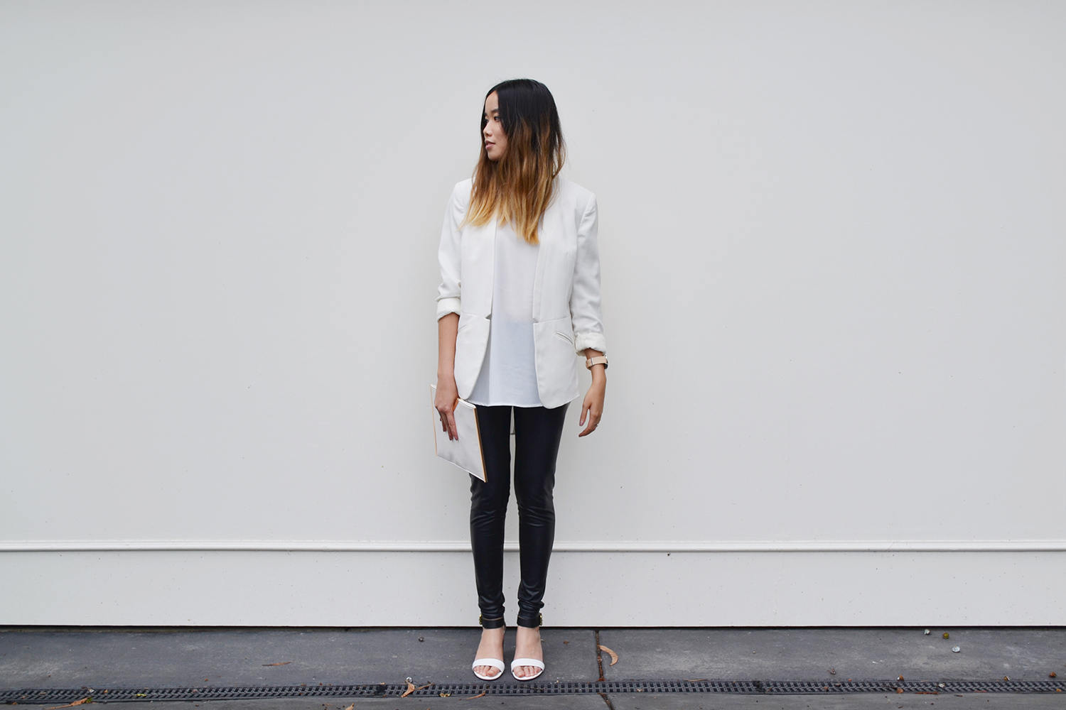 vivcha_melbourne_fashion_blogger_thehorse_watch_clutch_hm_blazer_style_2014_ombre_hair_shilla_label_heels.jpg