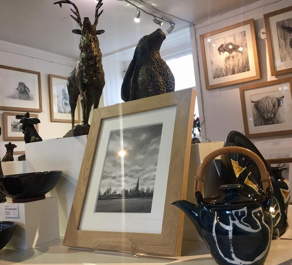Other Artists - In addition to stocking the entire range of Nolon's work, The Nolon Stacey Gallery also stocks work by some of Yorkshire's finest arts and crafts people, including ceramicist Elisabeth Bailey, sculptor John Rattenbury, and British bird artist Gareth Watling.
