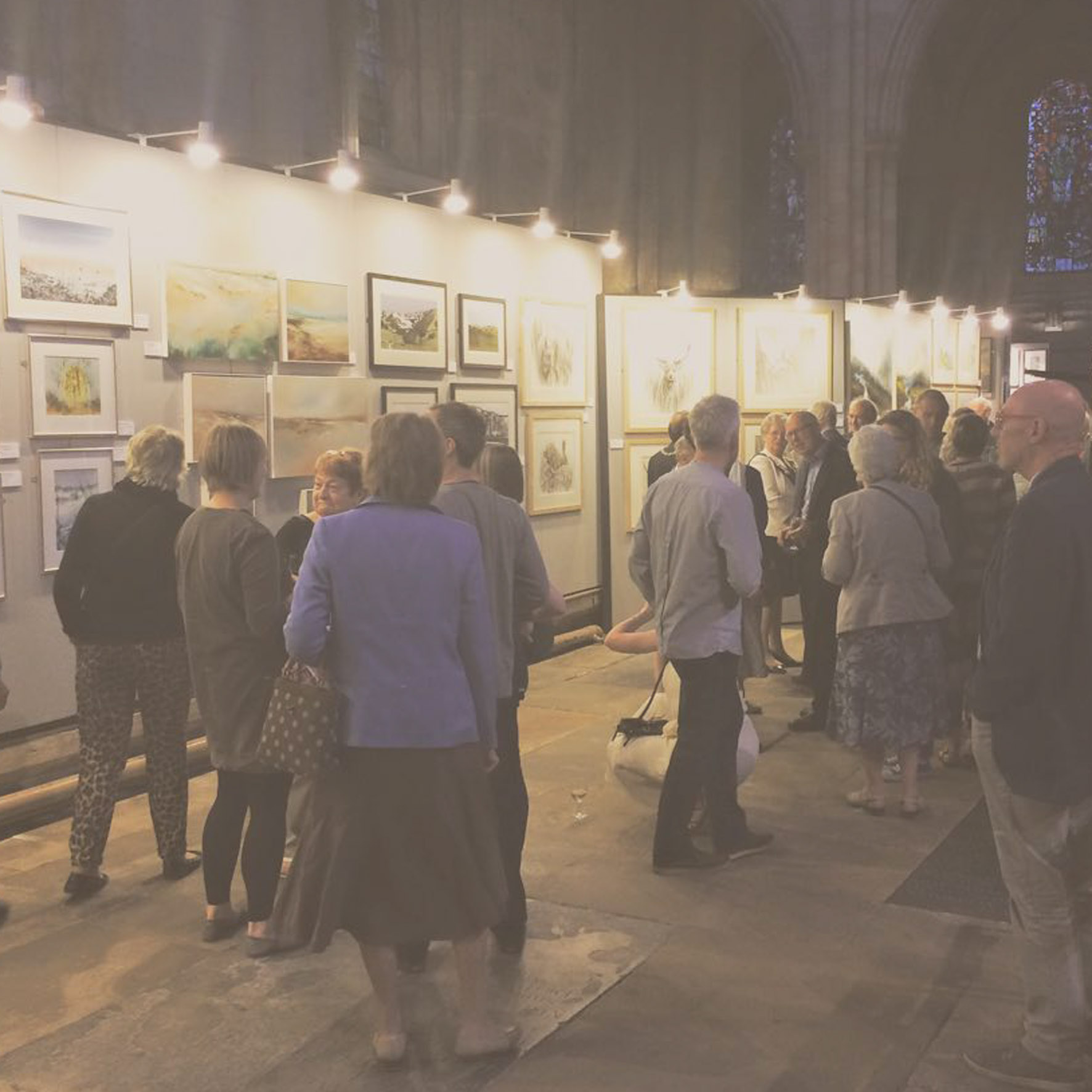 SOLO & GROUP EXHIBITIONS - The Great North Art Show, Ripon - 2017, 2015 & 2014Solo Exhibition, Chantry House Gallery - 2016The Priory Art Exhibition, Wetherby - 2016 & 2011North Yorkshire Open Studios - 2014RHS Harlow Carr Exhibition - 2009 to 2014Dales Countryside Museum Exhibition - 2013Masham Arts Festival Exhibition - 2009, 2011, 2013