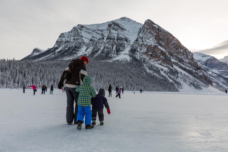 A Canadian family activity.