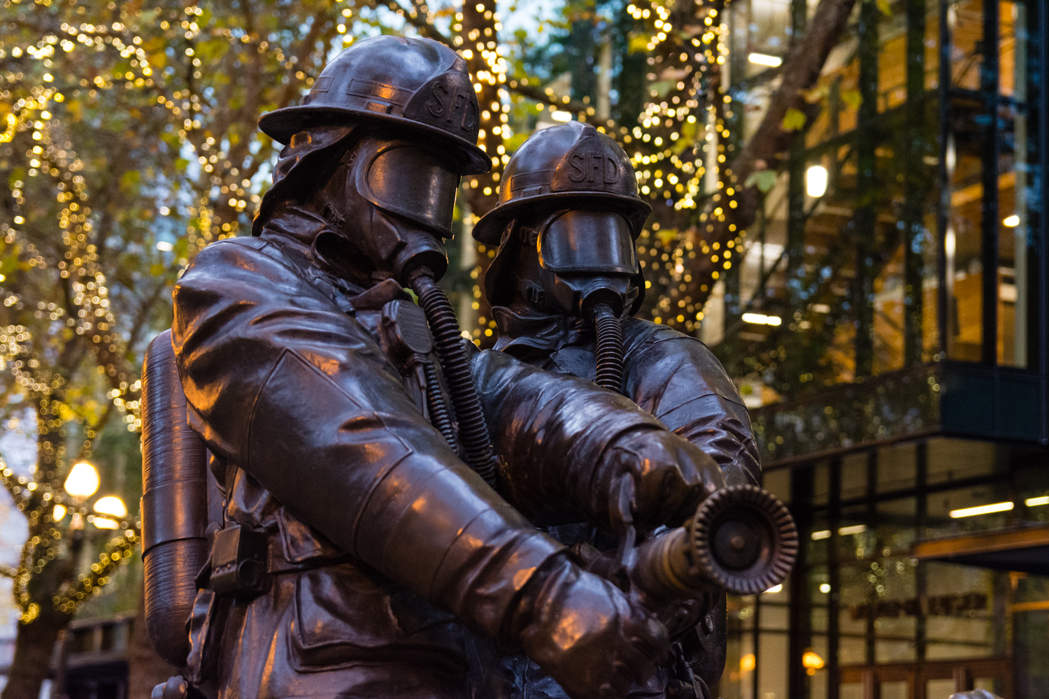 This memorial was inspired by the deaths of four Seattle firefighters who died January 5, 1995 fighting a fire in the Mary Pang warehouse in Seattle's International District - Wikipedia