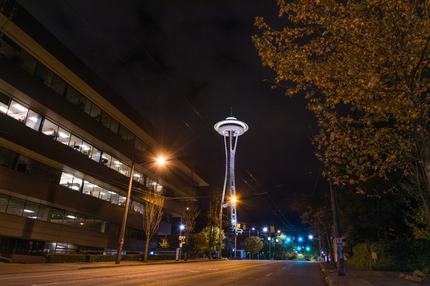 The famous Space Needle