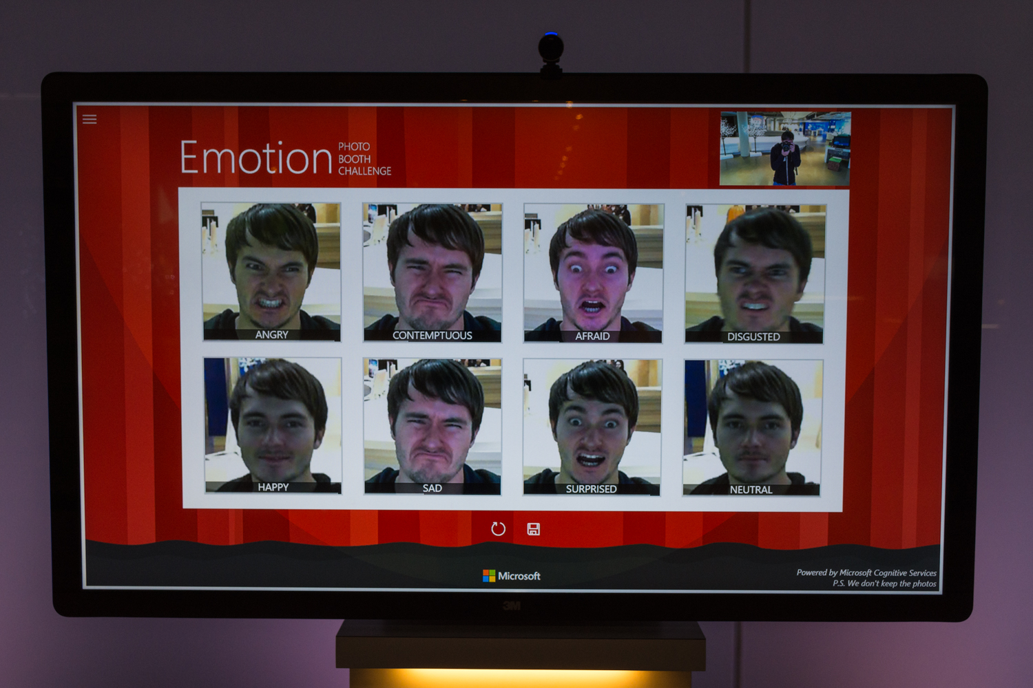 The 8 faces of Mike