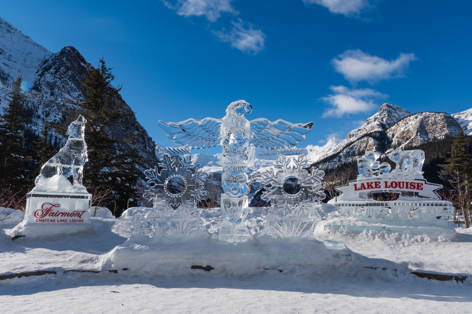 Ice magic, two words that sum up this place perfectly.