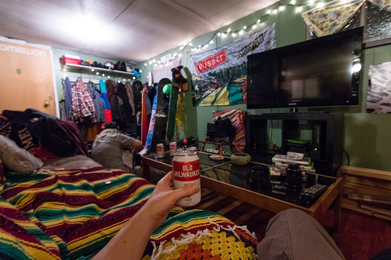 I didn't really know what to expect from staying in a trailer park, but it was very comfortable and fun.