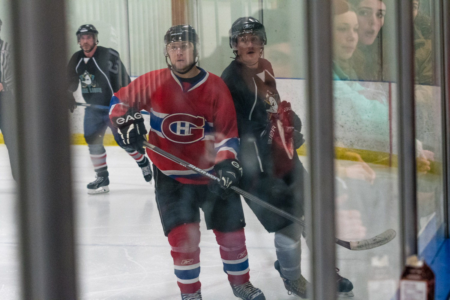 It was difficult shooting through the glass, but the reflections made for some interesting shots.
