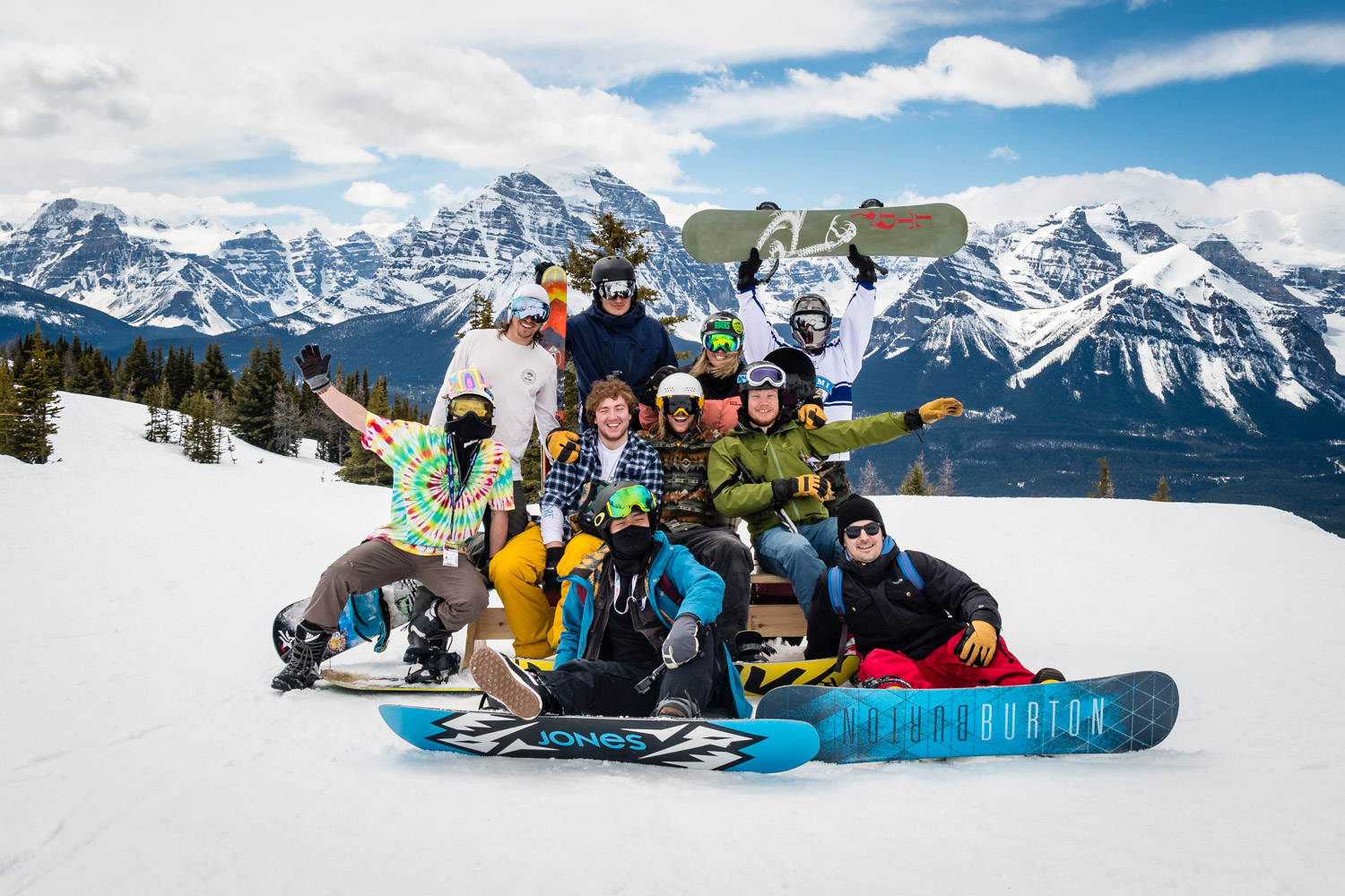 And then back to this troublesome bunch. This was the final day of snowboarding.