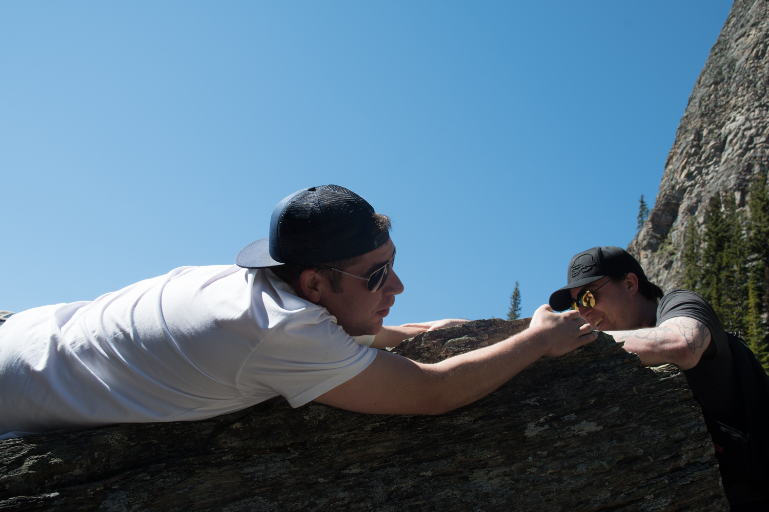 Trying to recreate a dramatic scene, from something like Vertical Limit.
