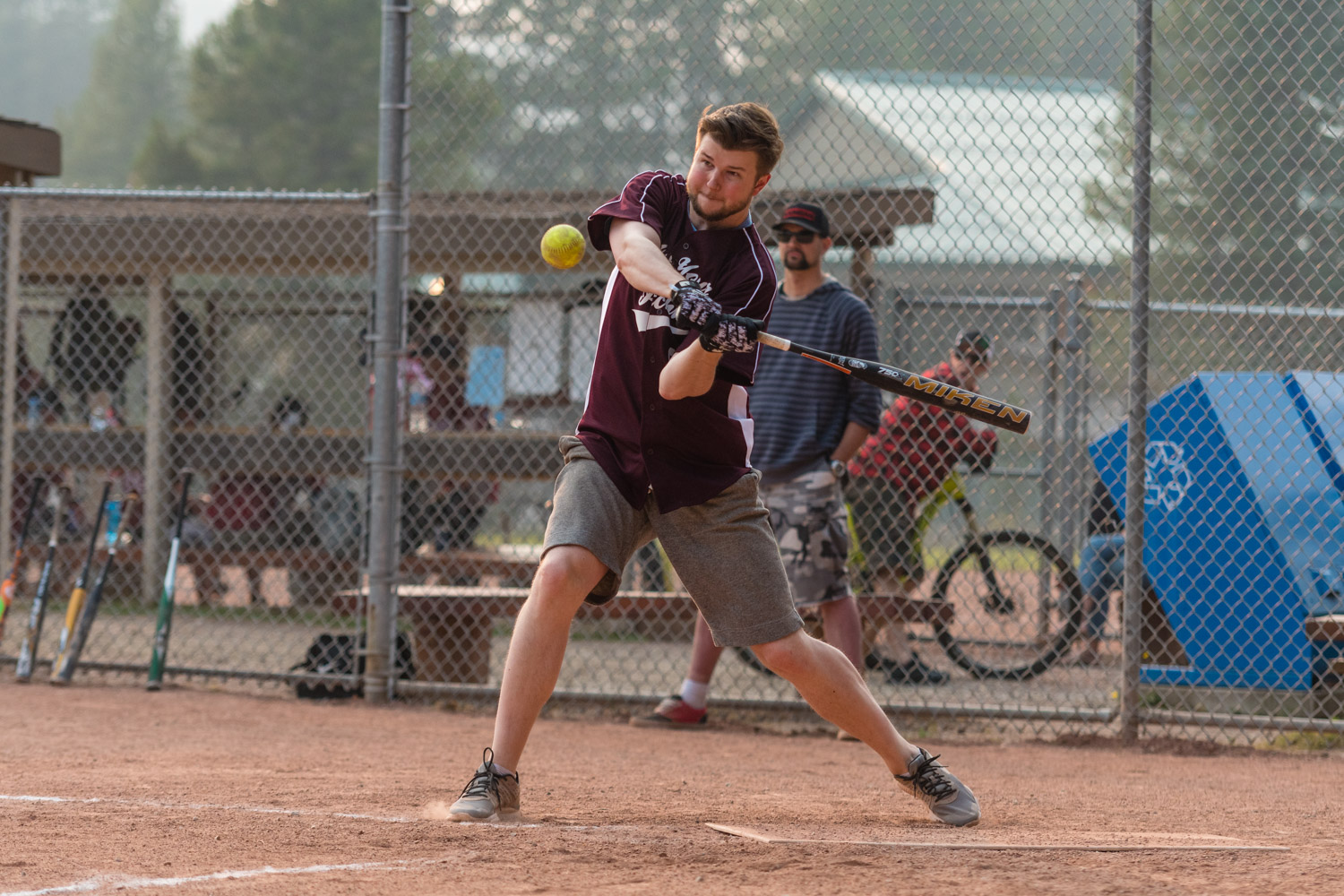 Another softball photo, one of my favourites of the year.