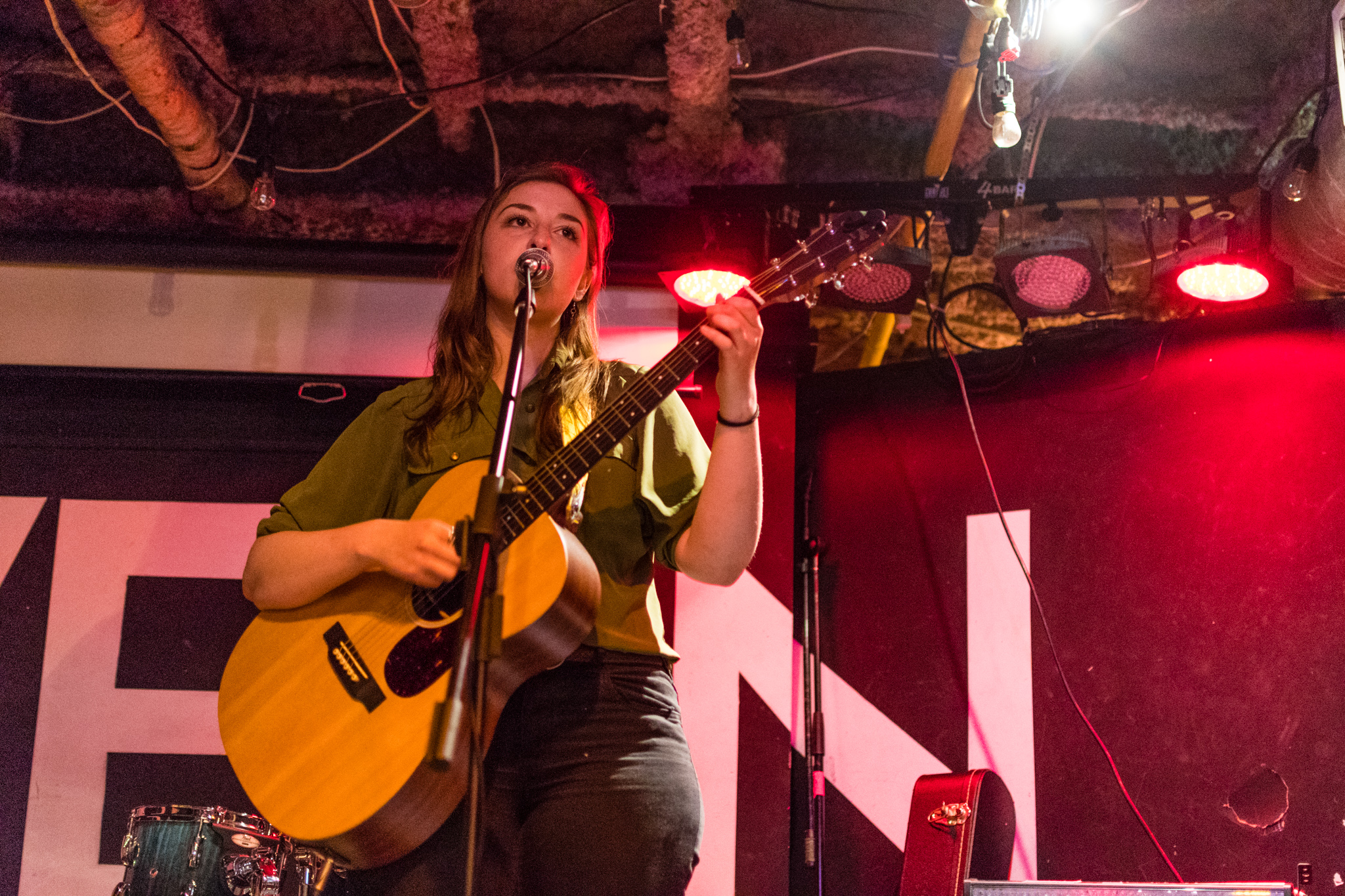 Photographying live music, something of a precursor for things to come.— with  Shealagh Rose .