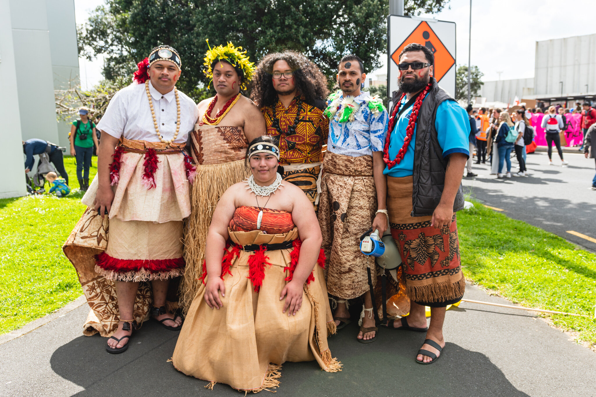 """""""We feel excluded…. we will be affected the most"""" Members of the Pacific Climate Warriors protesting to save their homes."""