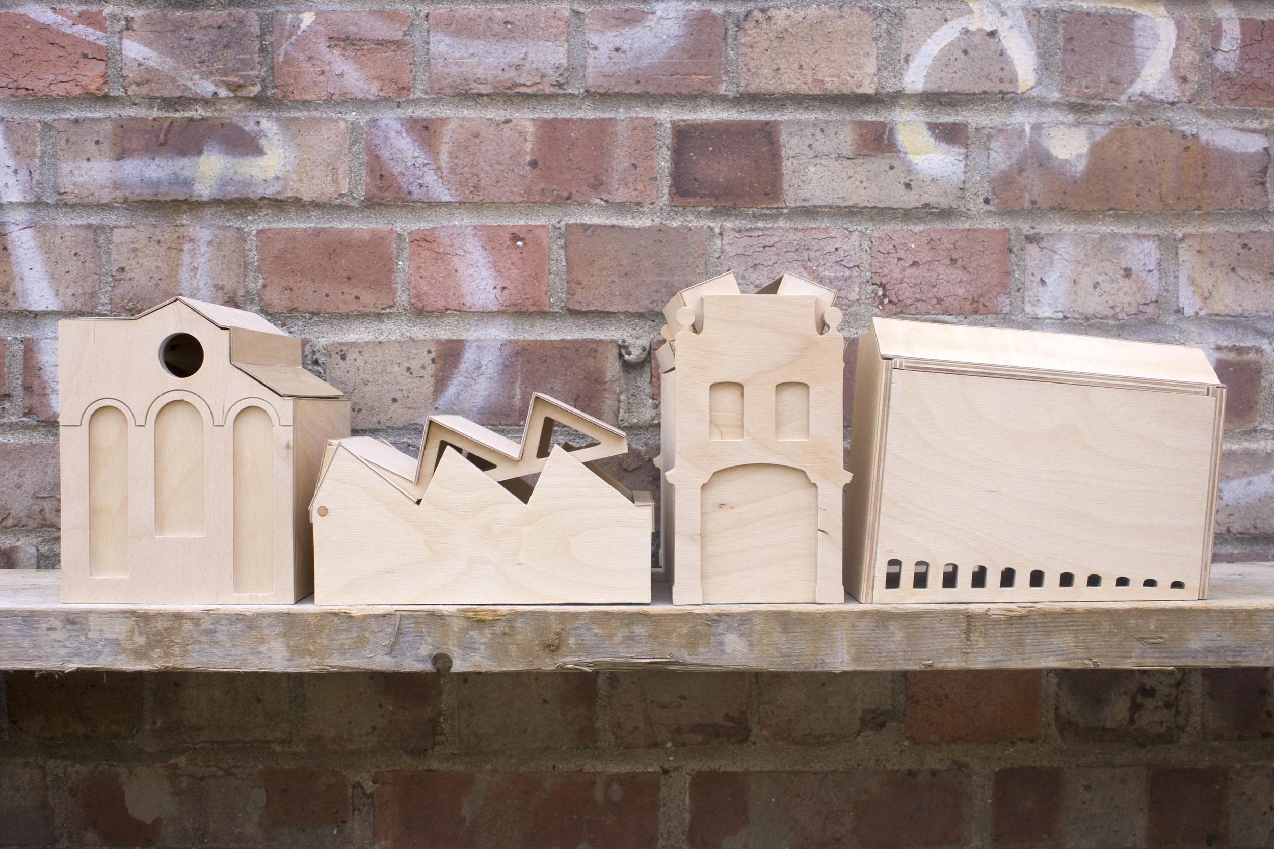 Box Factories Brick Wall