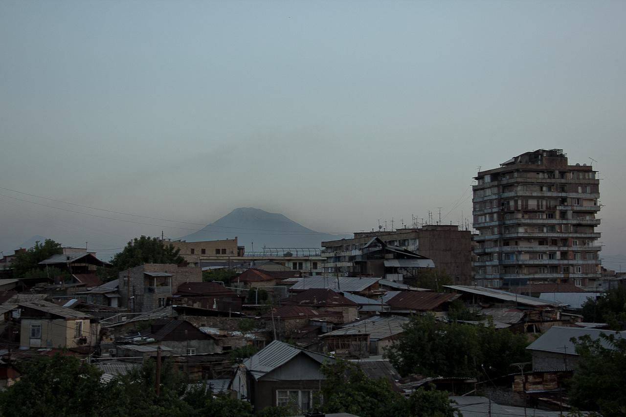 Yerevan and the Ararat